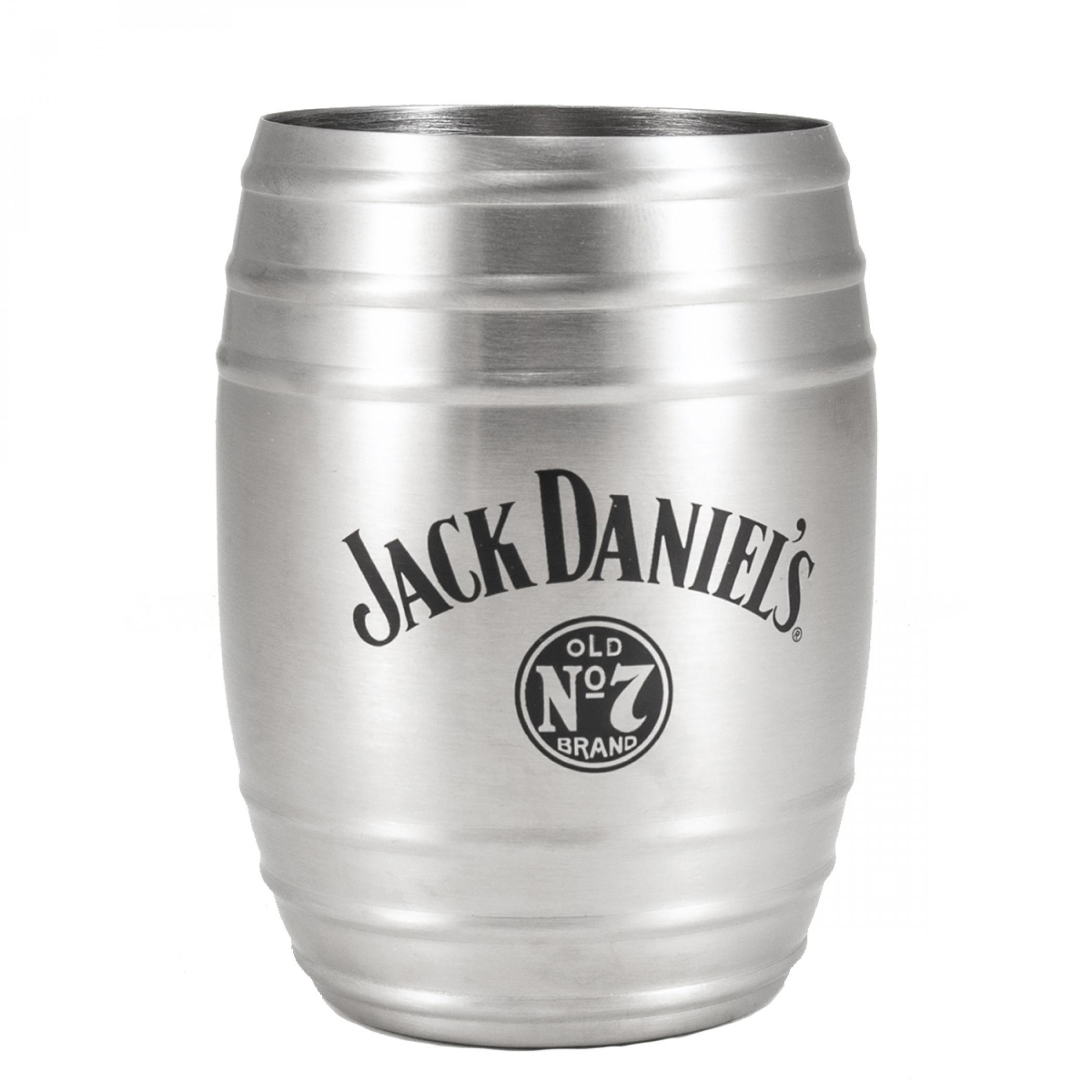 Jack Daniel's 14 oz Metal Barrel Cup