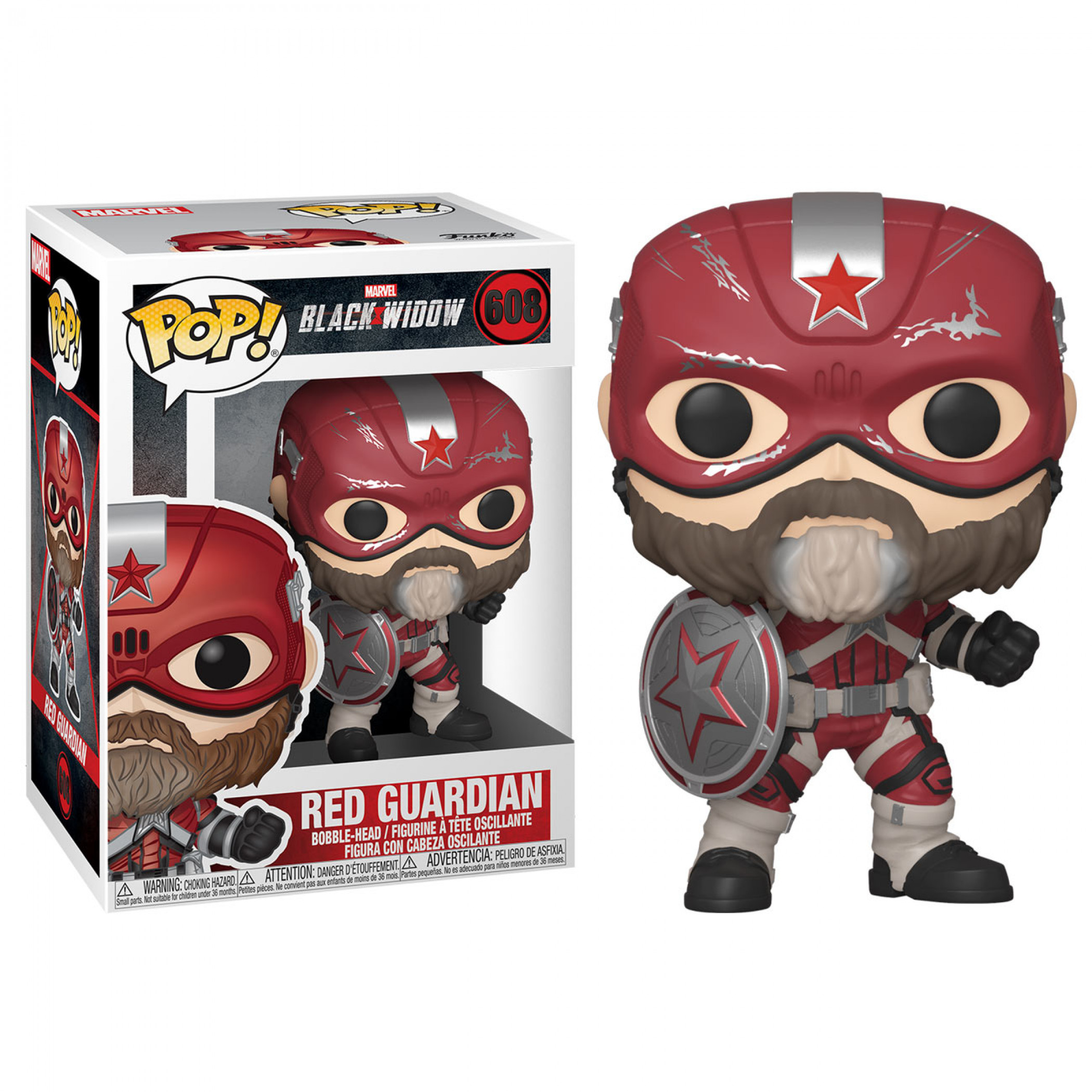 Marvel: Black Widow Movie Red Guardian Funko Pop!