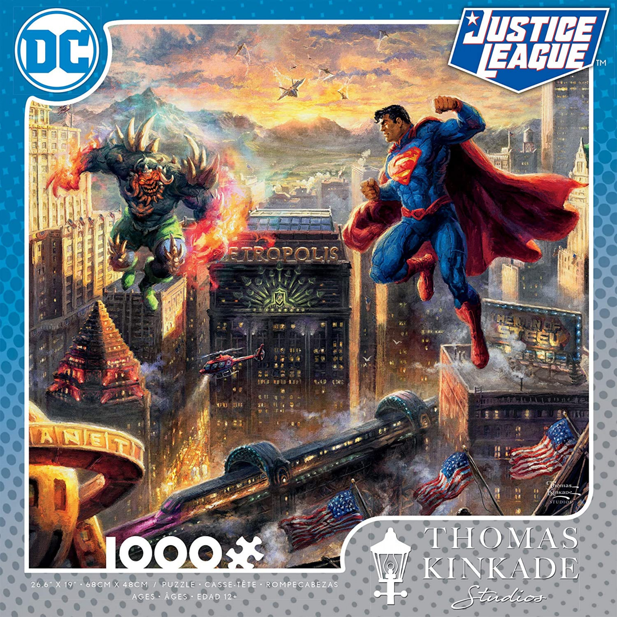 Superman Man of Steel 1000 Piece Puzzle