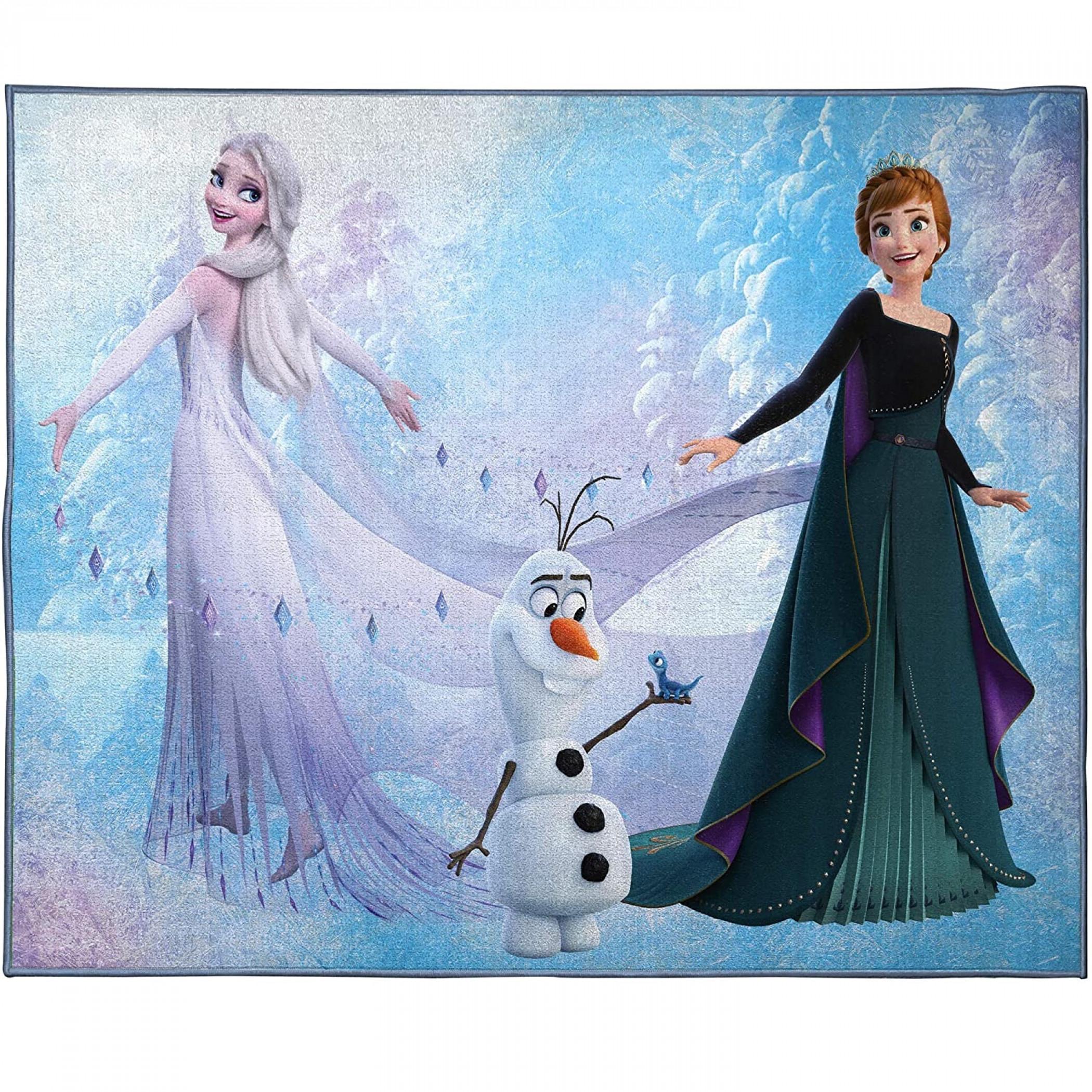 Disney Frozen 2 Snow and Ice Room Rug