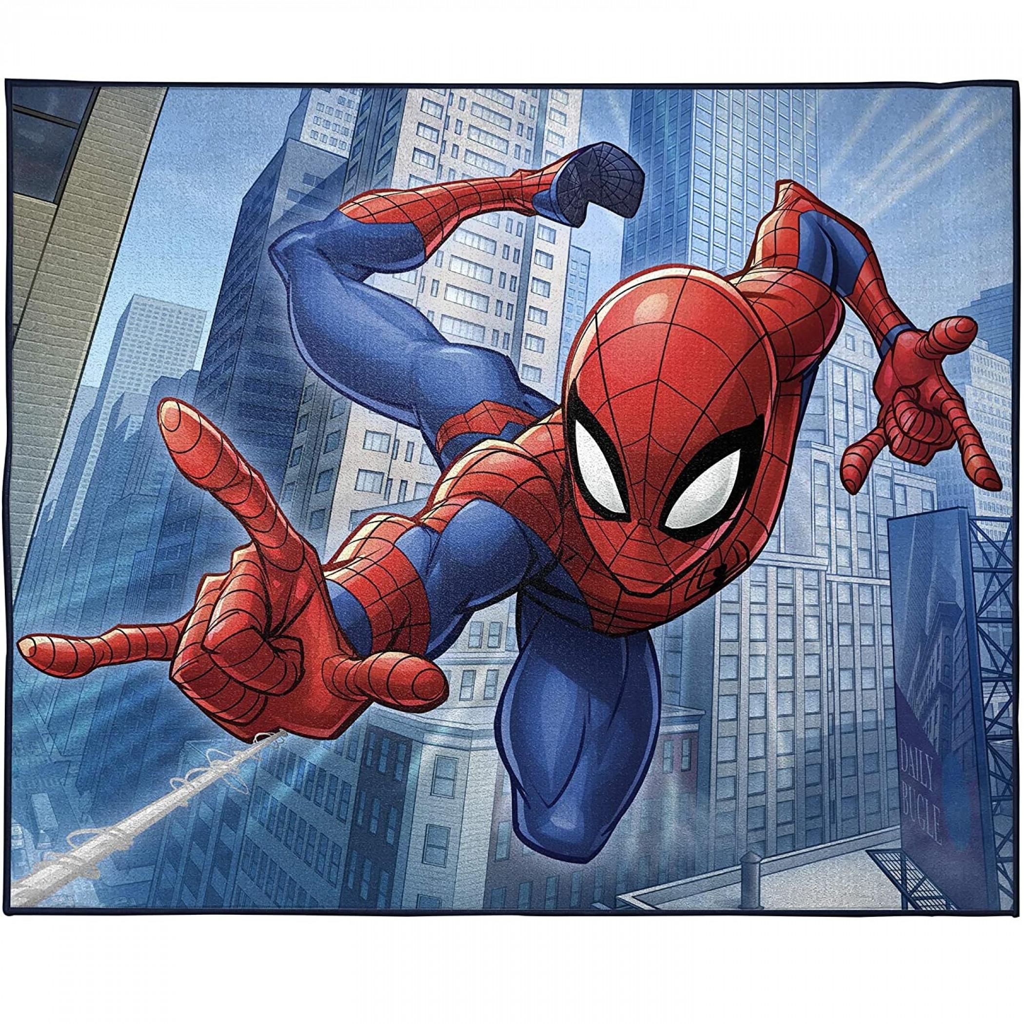 Marvel Spider-Man Wall Crawler Room Rug