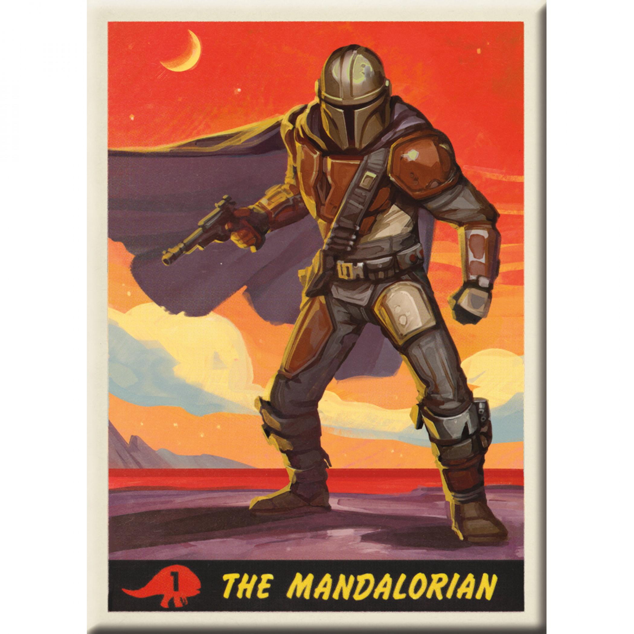 The Mandalorian Sunset Magnet