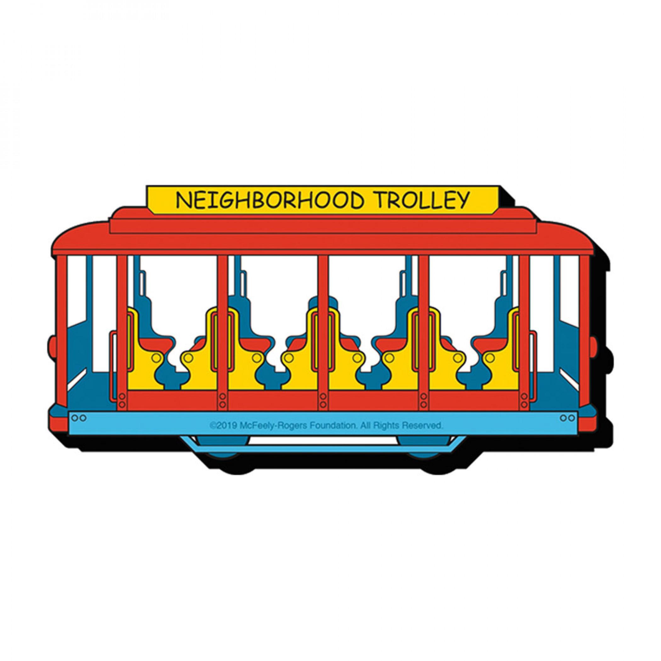 Mister Rogers Neighborhood Trolley Magnet