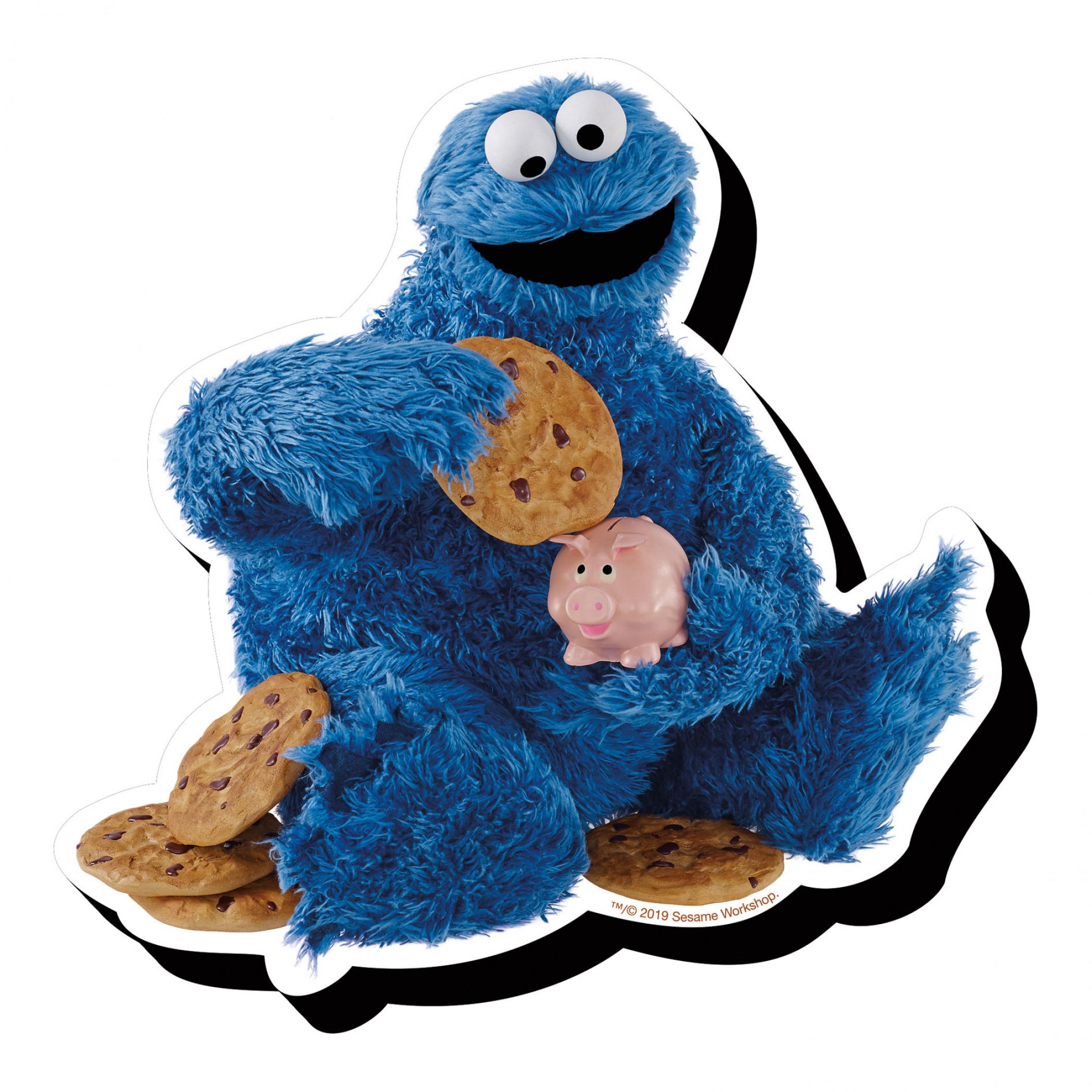 Sesame Street Cookie Monster Magnet