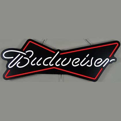 Budweiser Bowtie 48 Inch Neon Sign