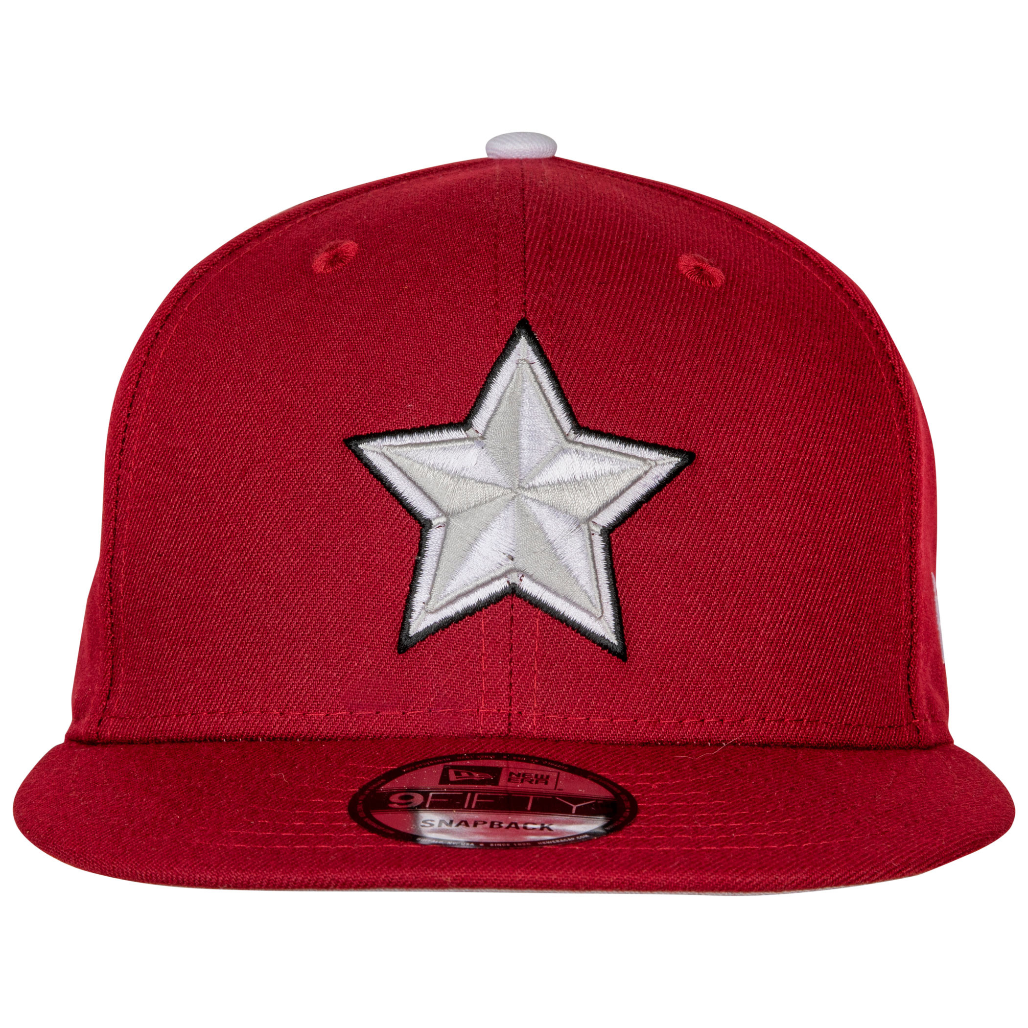 Red Guardian Symbol in Black Widow Movie New Era 9Fifty Adjustable Hat