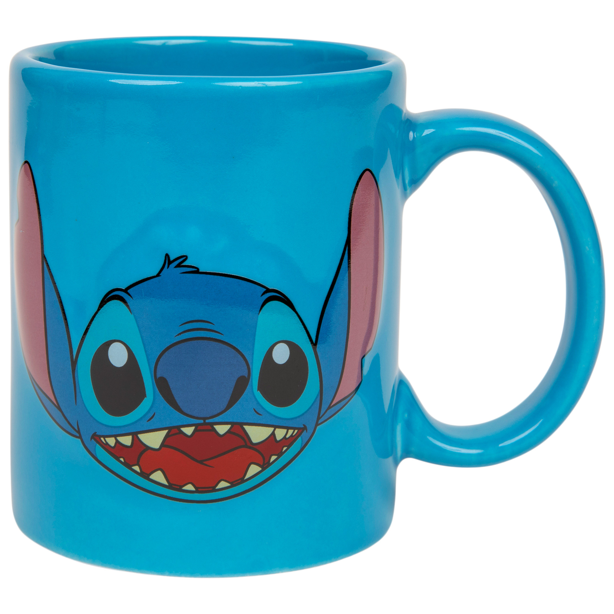 Lilo and Stitch Disney Character Stitch Full Face Relief 11oz Mug