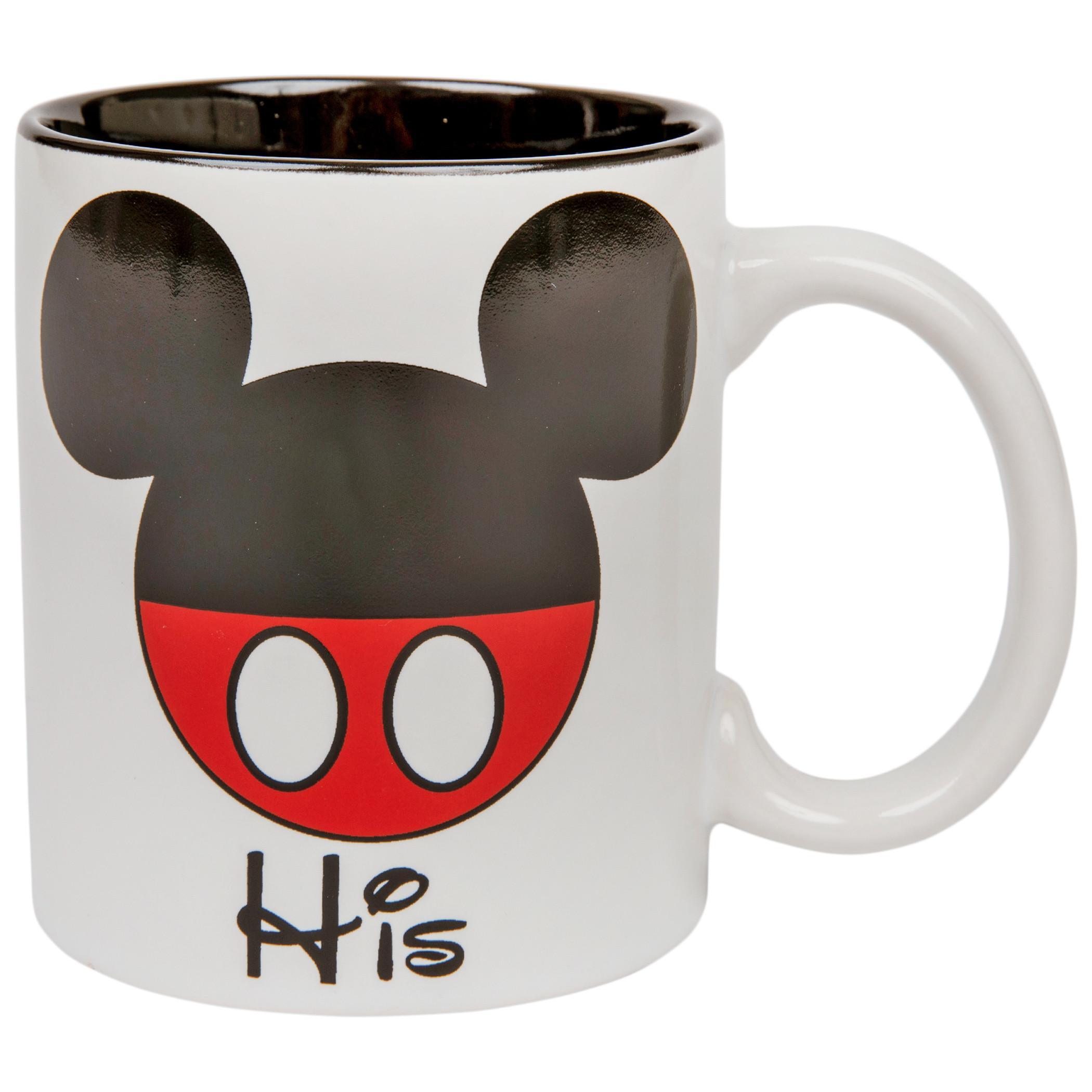 """Disney Mickey Mouse """"His"""" 11oz Mug"""