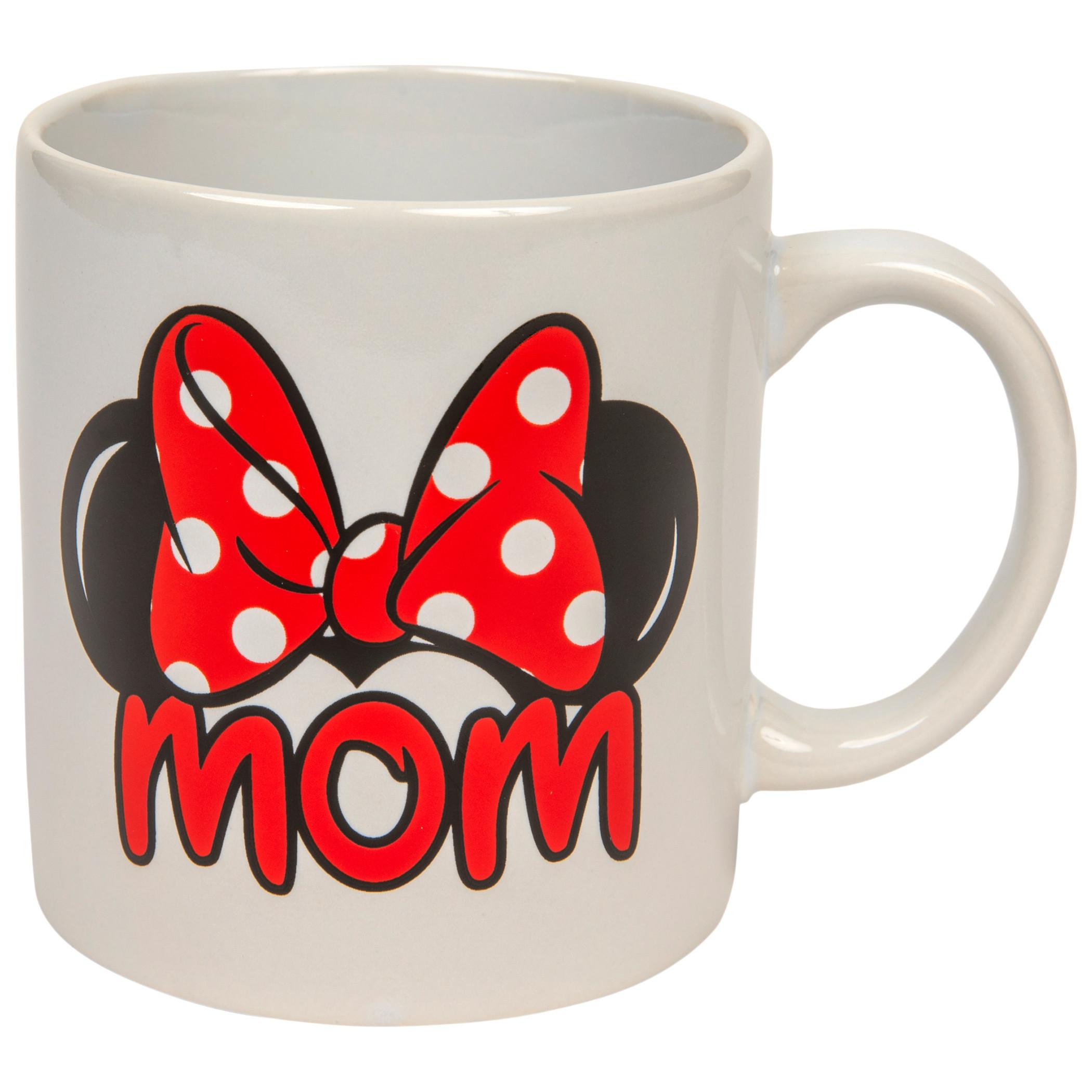 """Disney Minnie Mouse """"Mom"""" 20oz Mug"""
