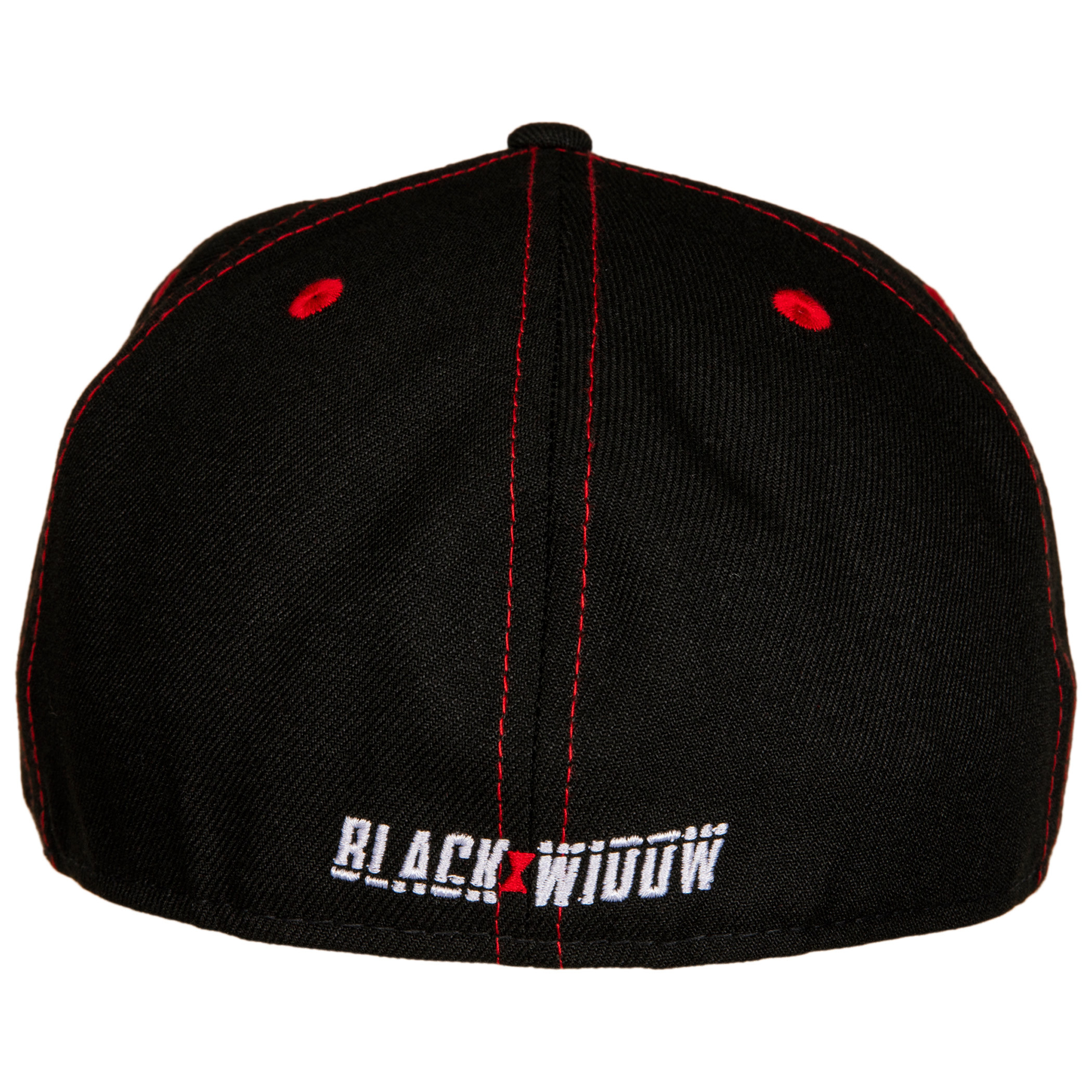 Black Widow Movie Logo With Title Text New Era 59Fifty Fitted Hat