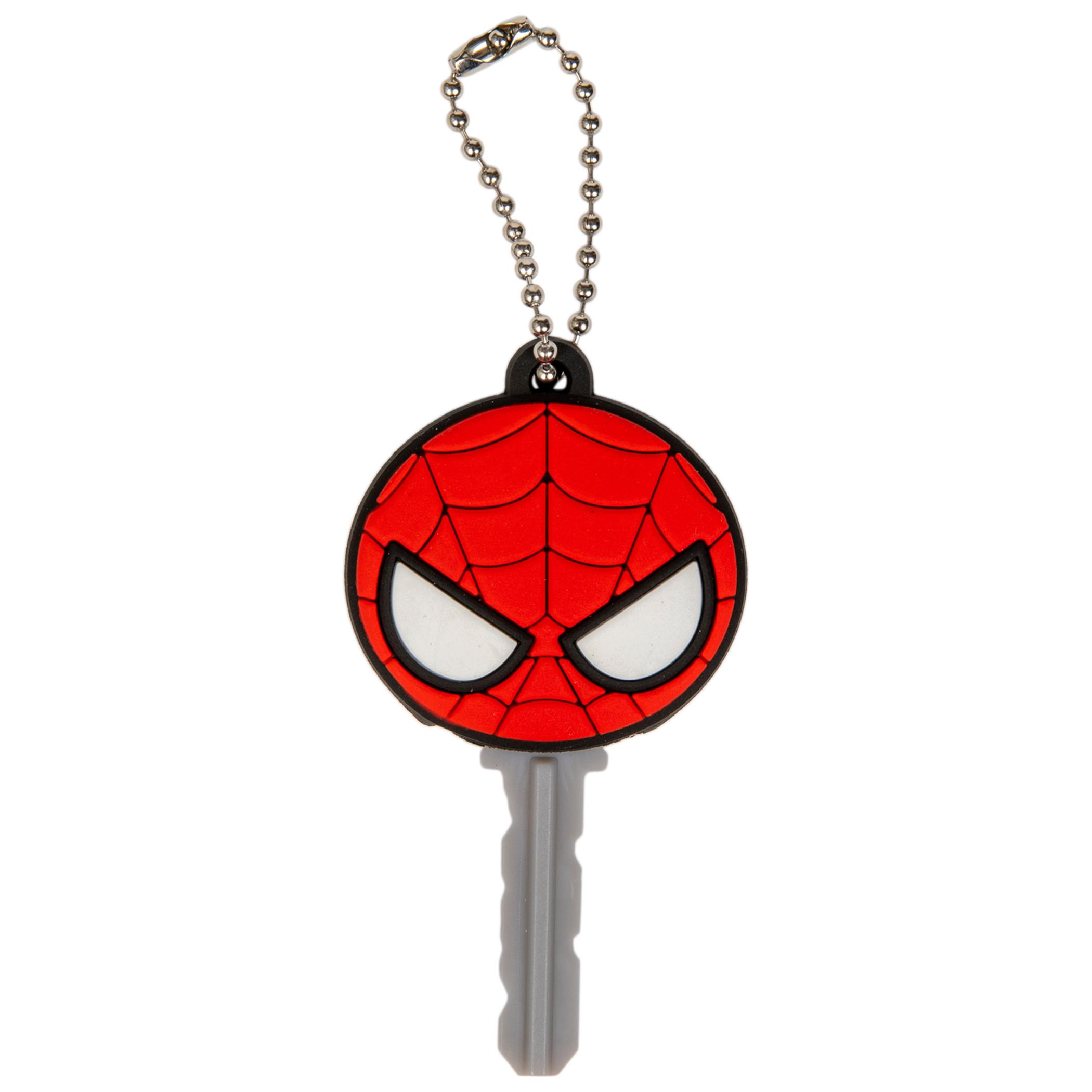 Spider-Man Mask Logo Keyholder Keychain