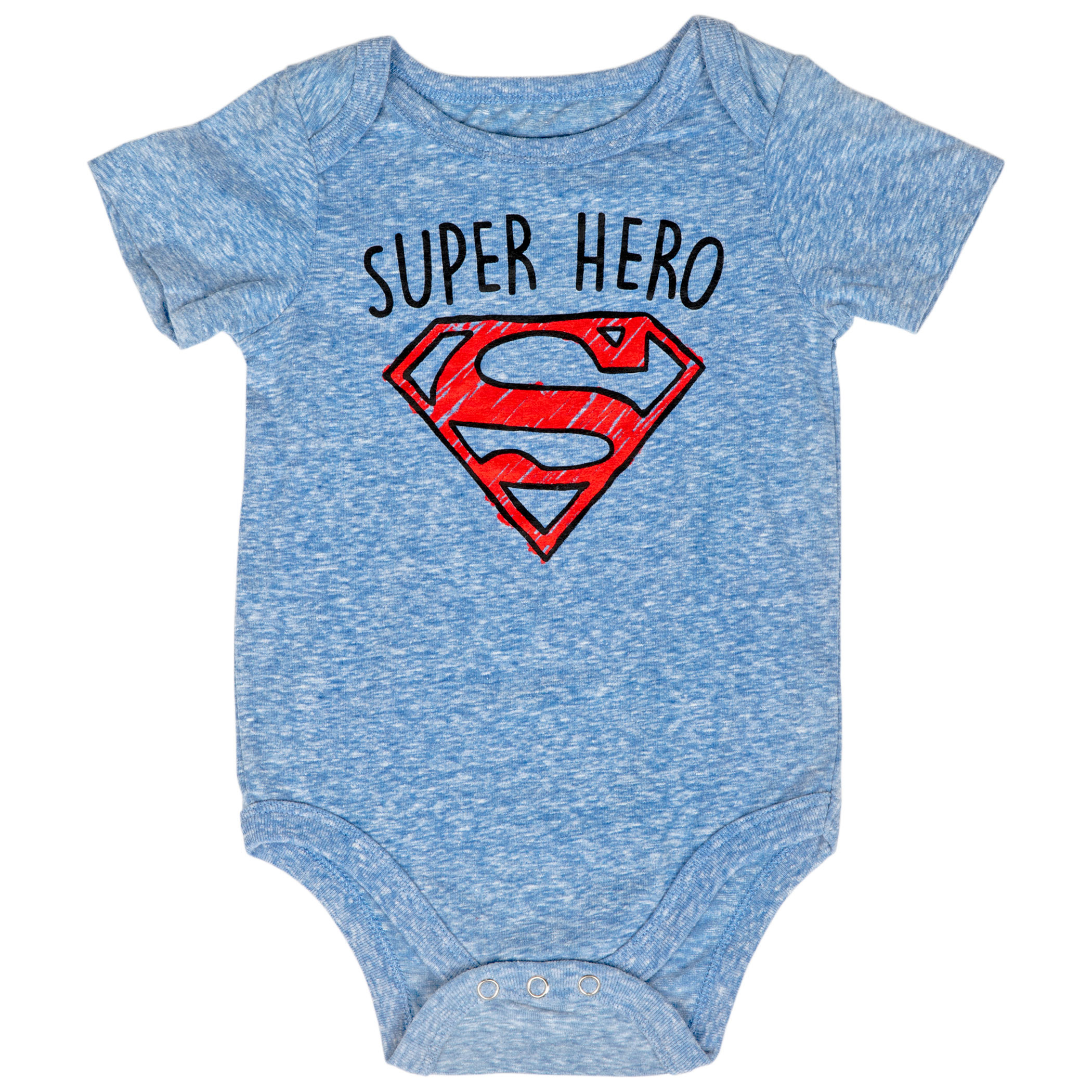 Superman Super Hero Infant Snapsuit