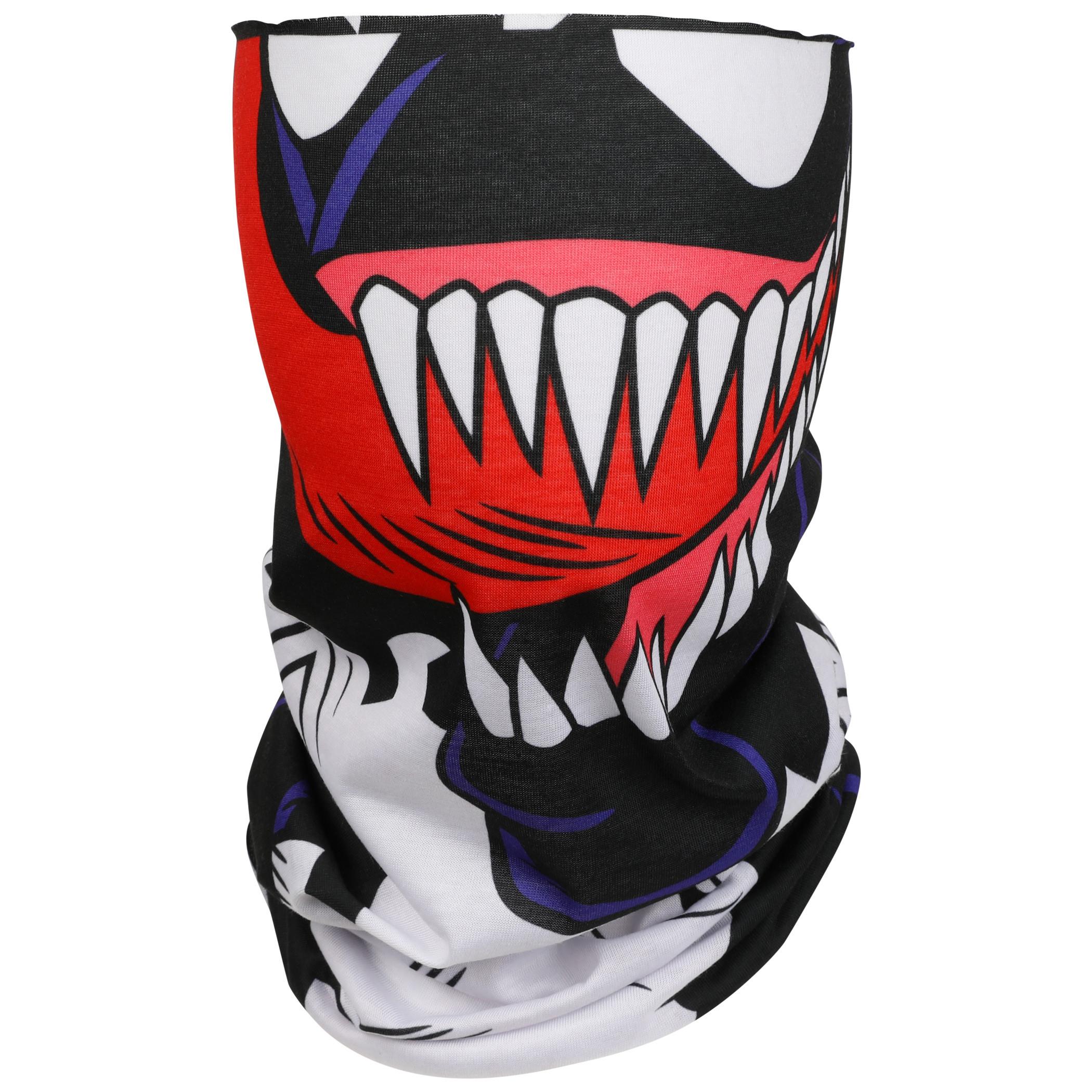 Marvel Venom Character Costume Full Face Tubular Bandana Gaiter