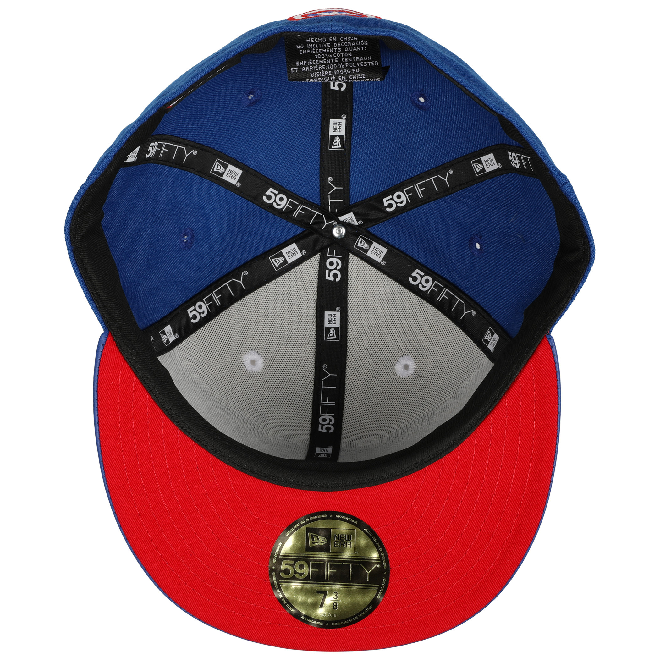 All New Captain America Armor 59Fifty Fitted New Era Hat