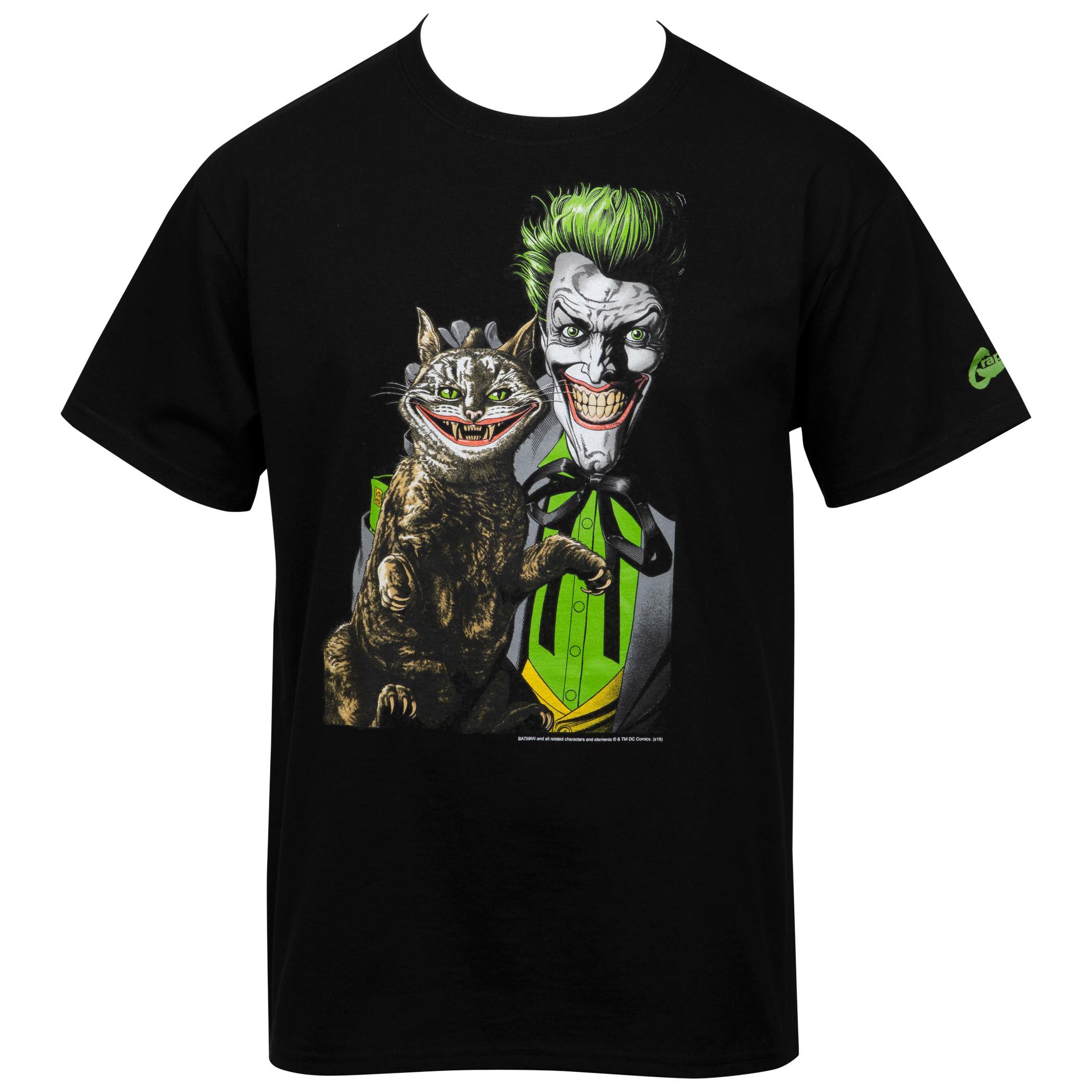 Joker PuuurfectCrime art by Brian Bolland T-Shirt