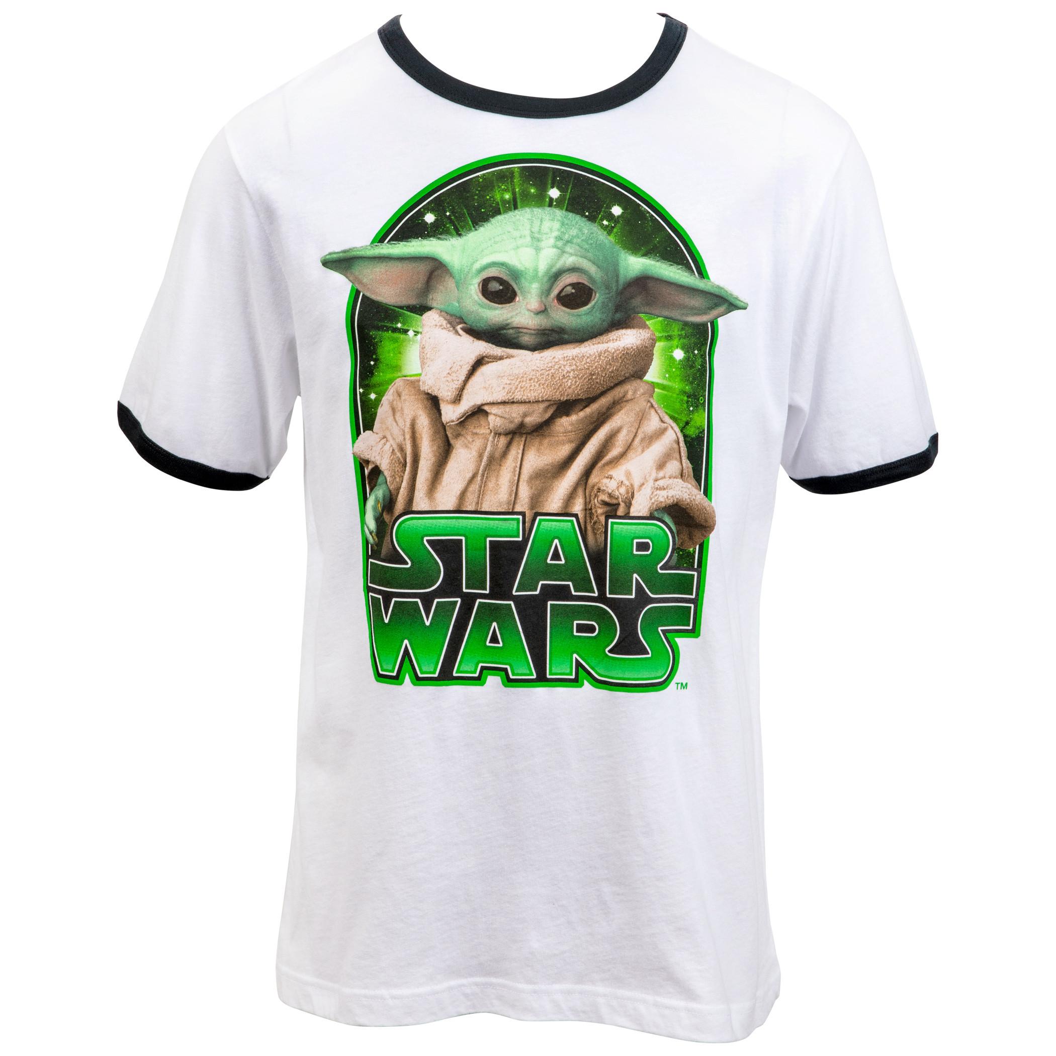 Star Wars The Mandalorian The Child Character Ringer T-Shirt