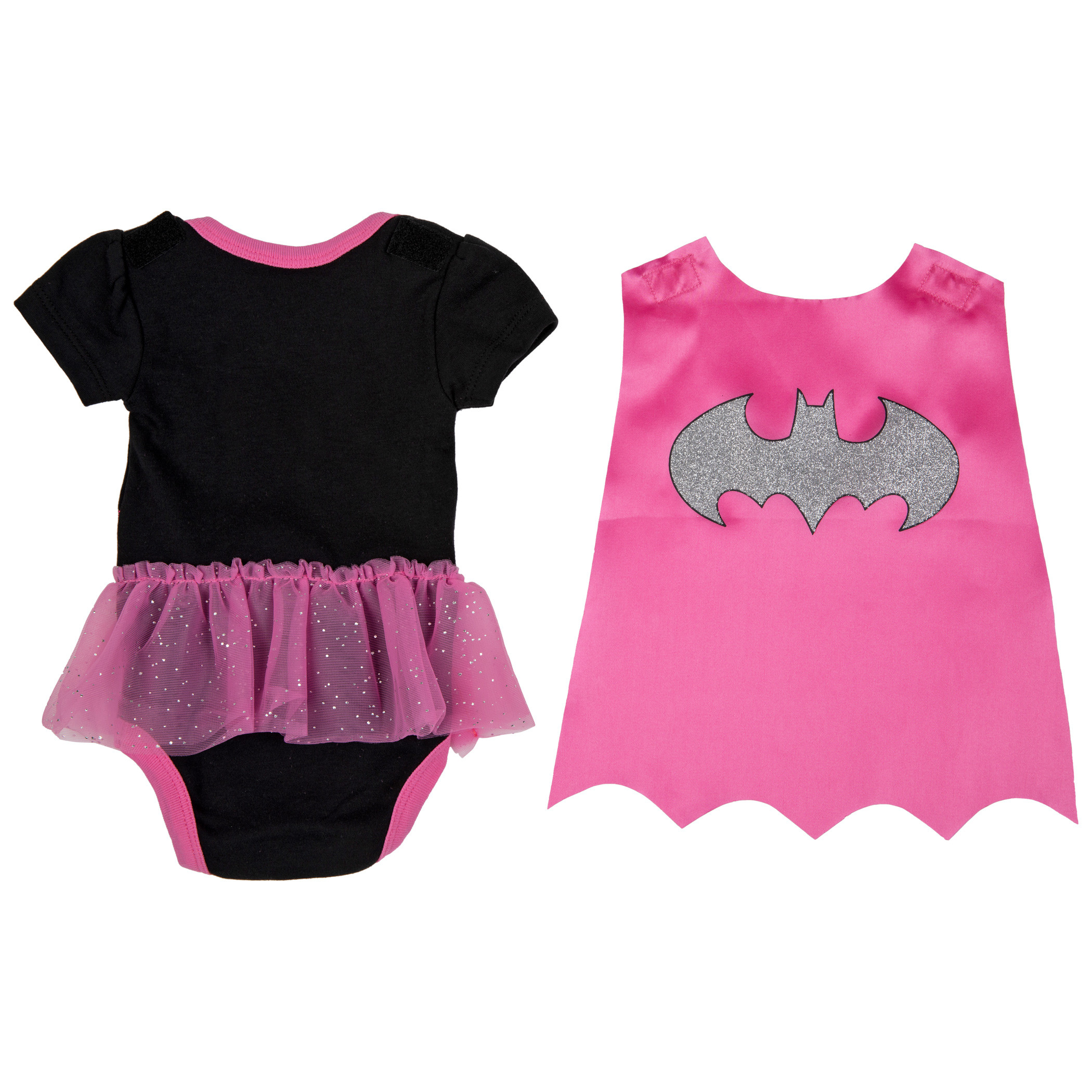 Batgirl Symbol Snapsuit with Cape