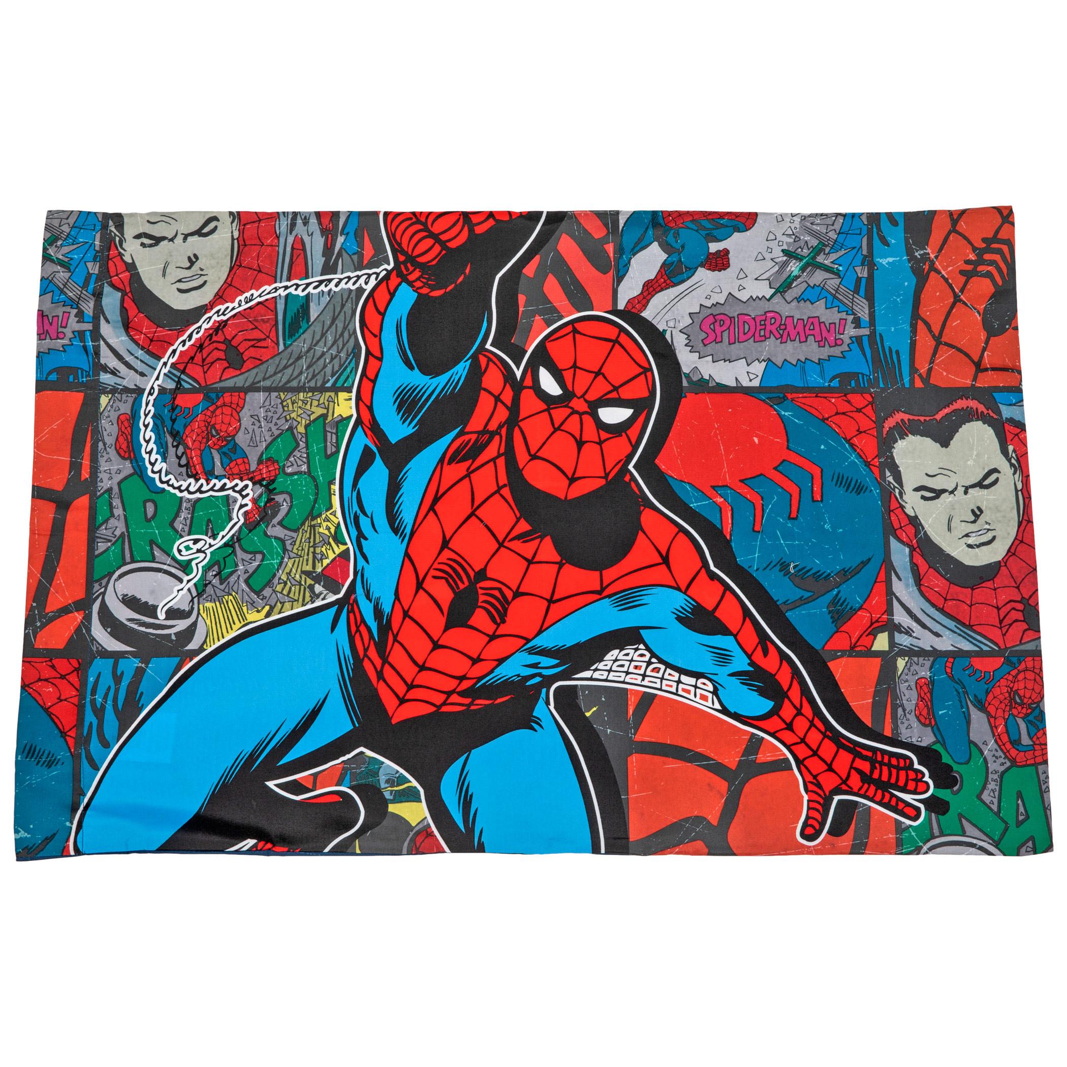 Spider-Man Jump Kick Pillowcase