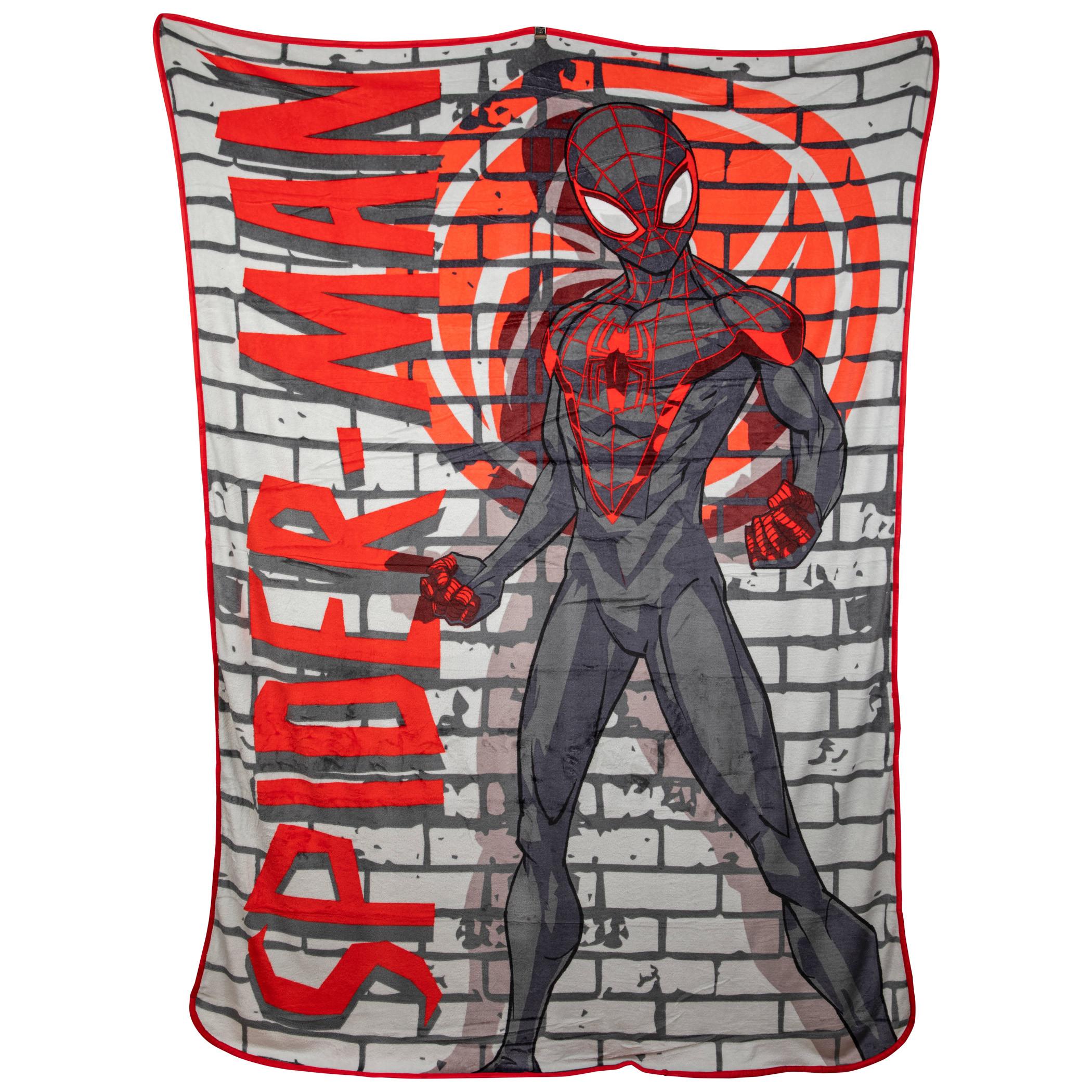 Marvel Spider-Man Miles Morales New Kids Blanket