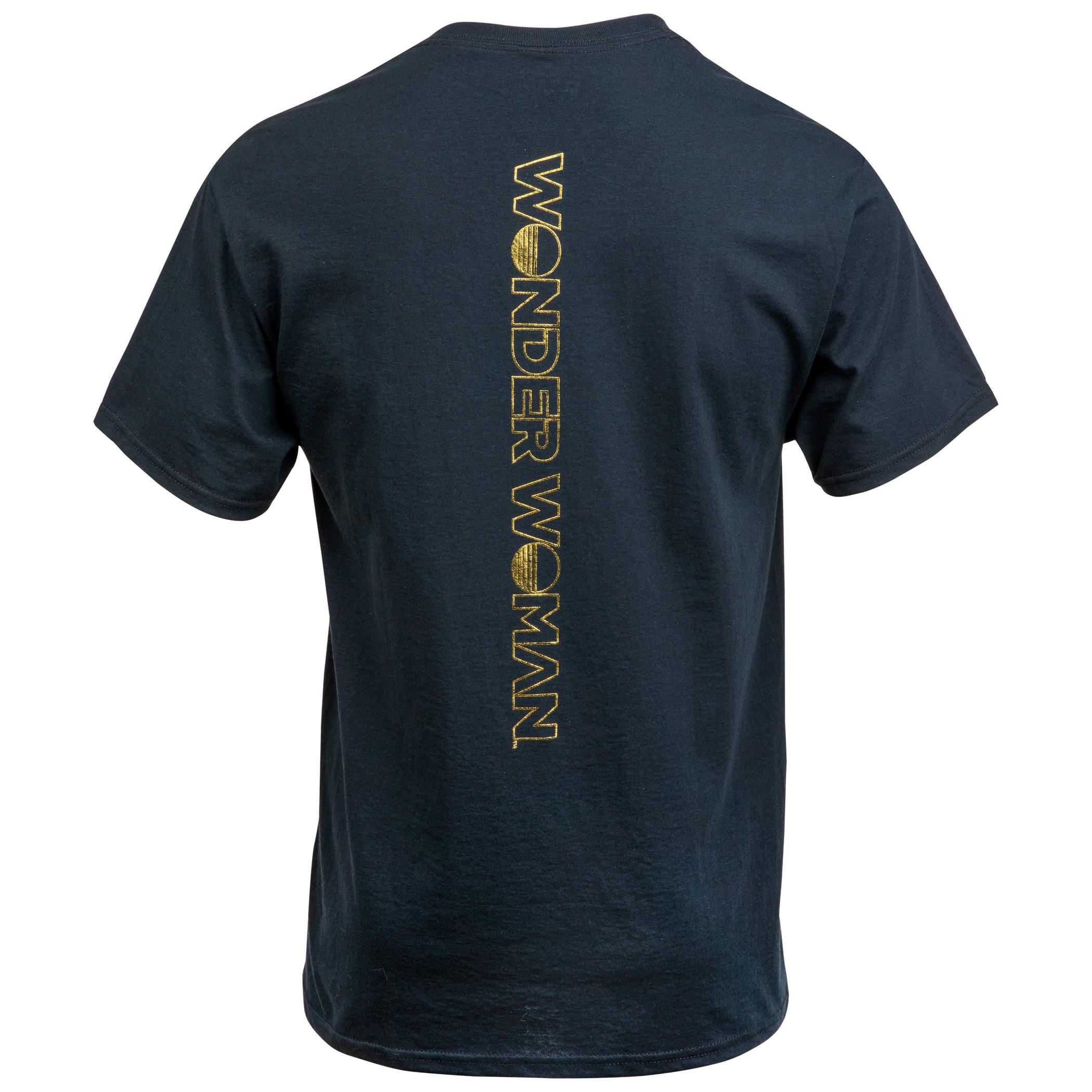 Wonder Woman 1984 Flight Scene with Back Print Women's T-Shirt
