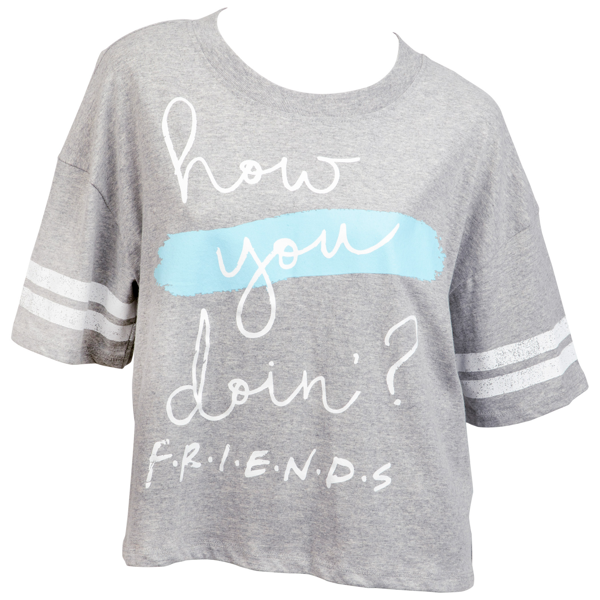 Friends TV Show How You Doing Women's Crop Top