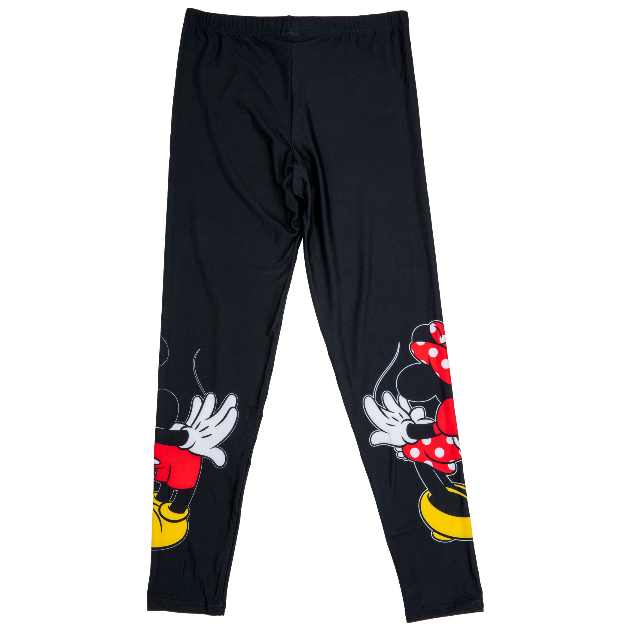 Mickey And Minnie Mouse Disney Kissing Junior Leggings