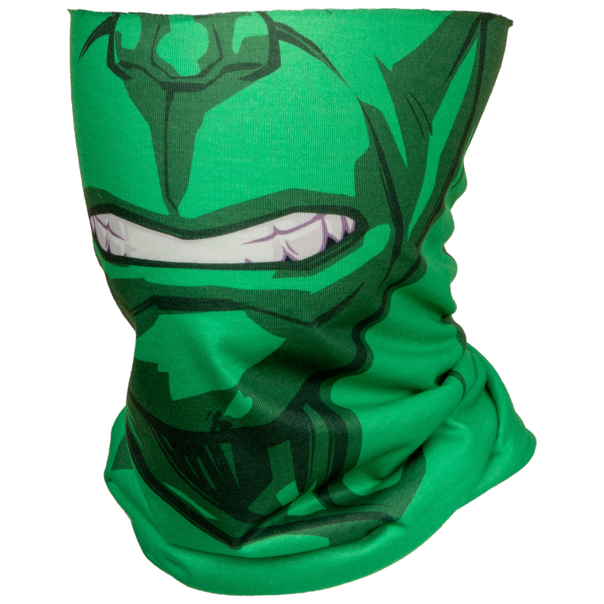 Incredible Hulk Character Costume Full Face Tubular Bandana Gaiter