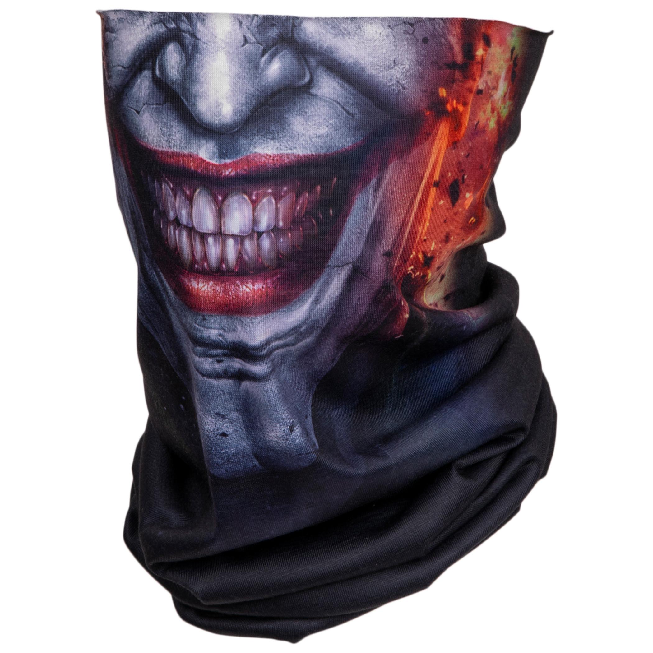 Joker Character Costume Full Face Tubular Bandana Gaiter