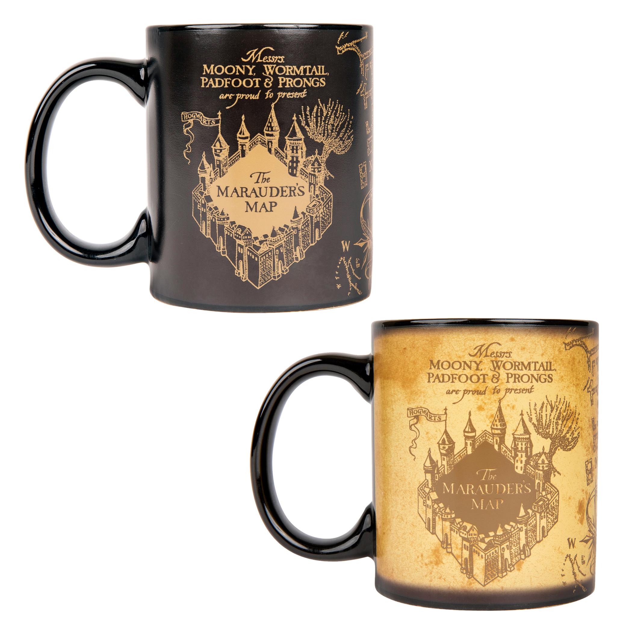 Harry Potter Hogwarts Marauder's Map Heat Change Mug