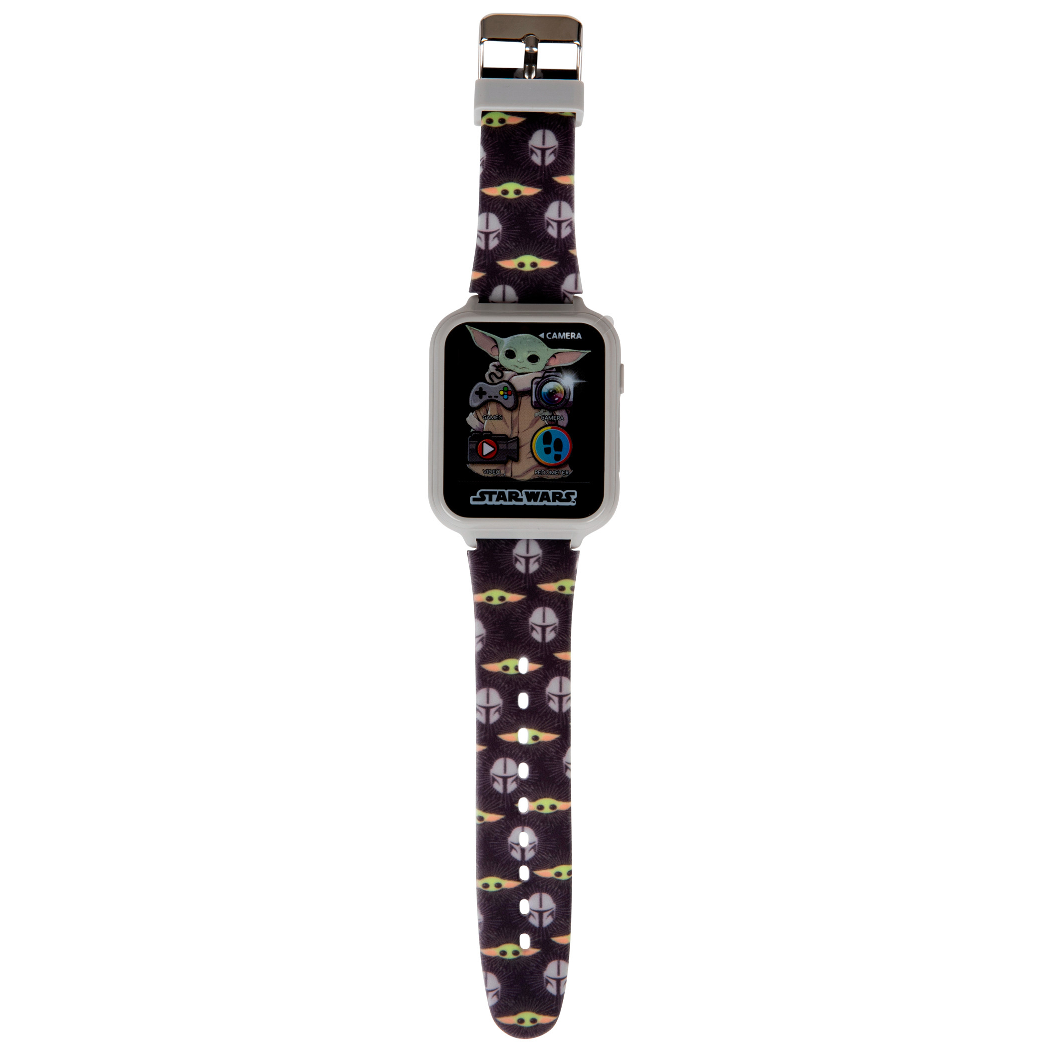 Accutime Star Wars The Child from The Mandalorian All Over Print Interactive Kids Watch
