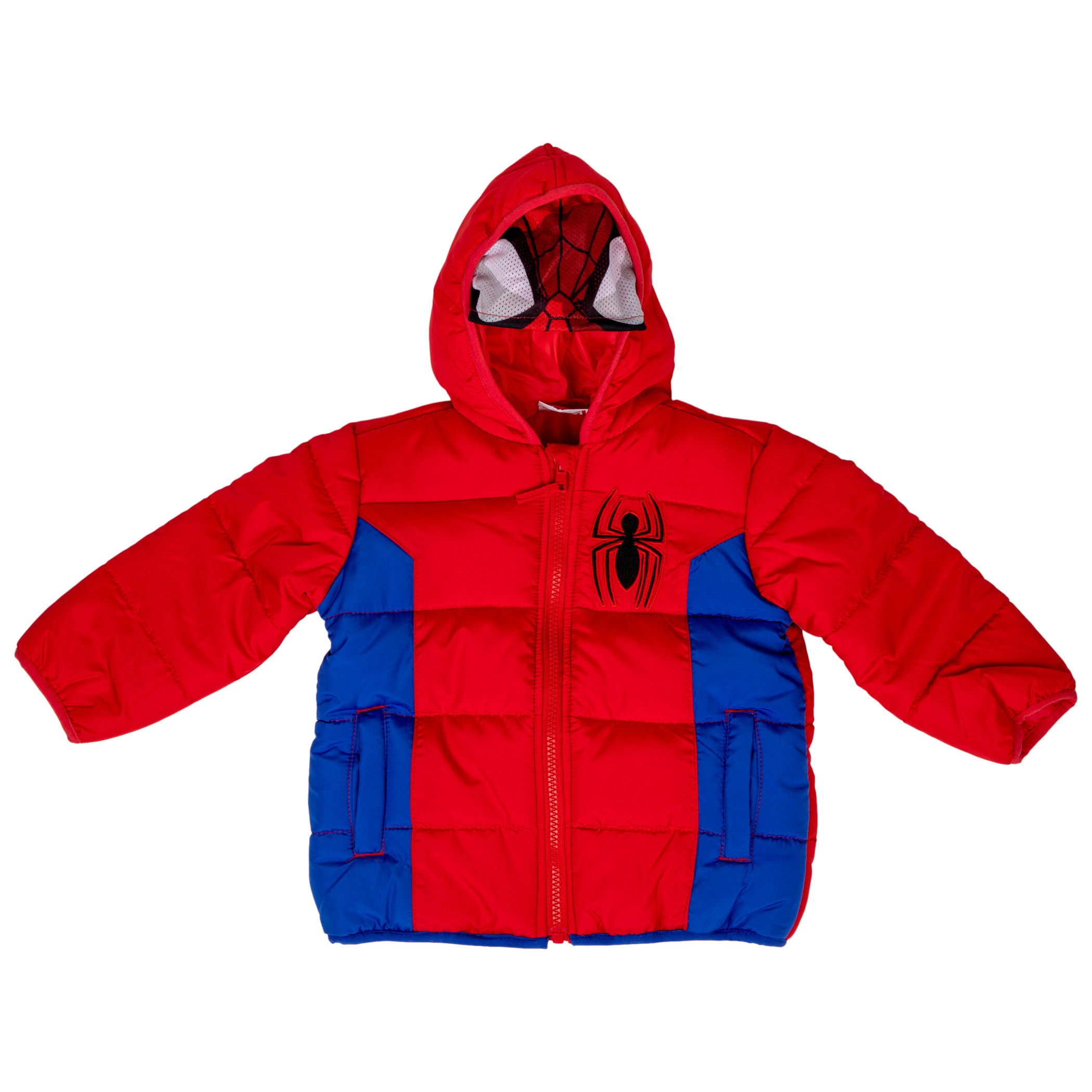 Spider-Man Costume Puffy Kids Jacket