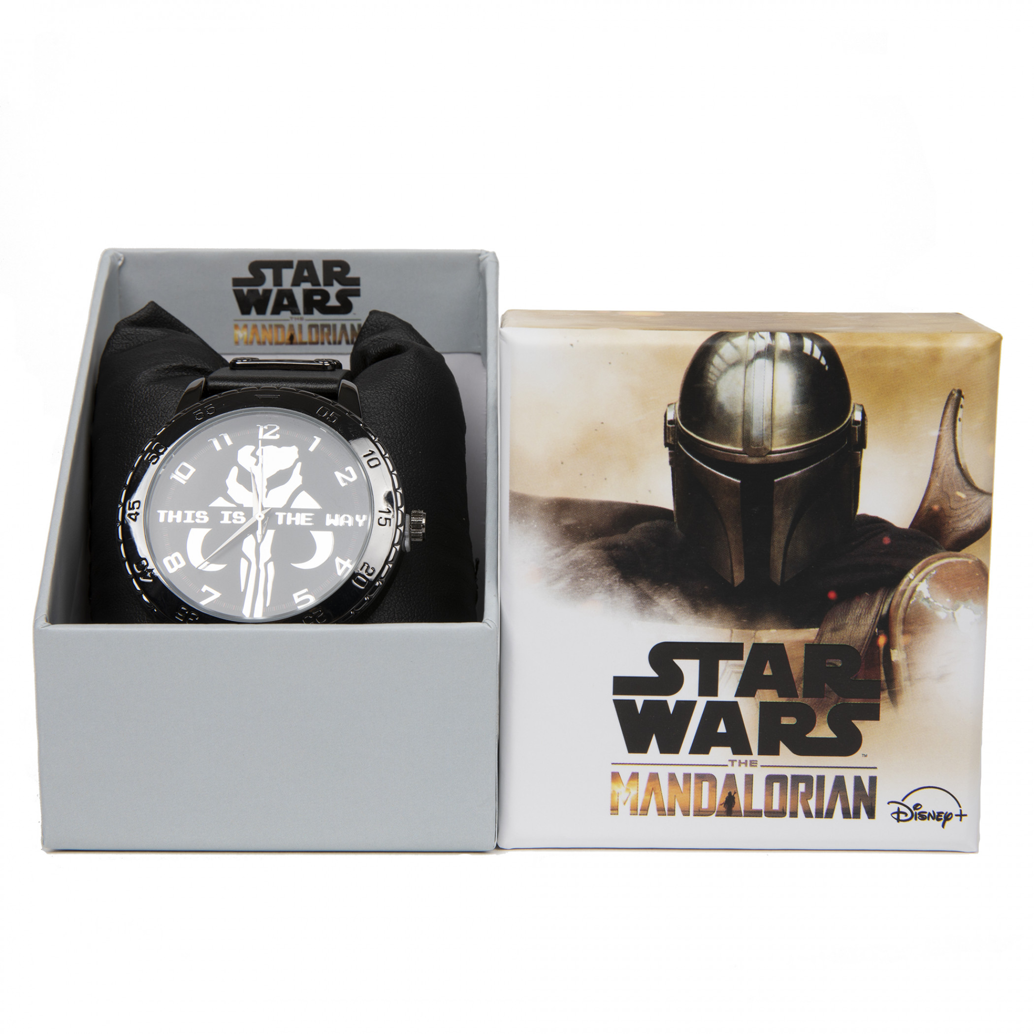Star Wars The Mandalorian This is the Way Watch with Rubber Band
