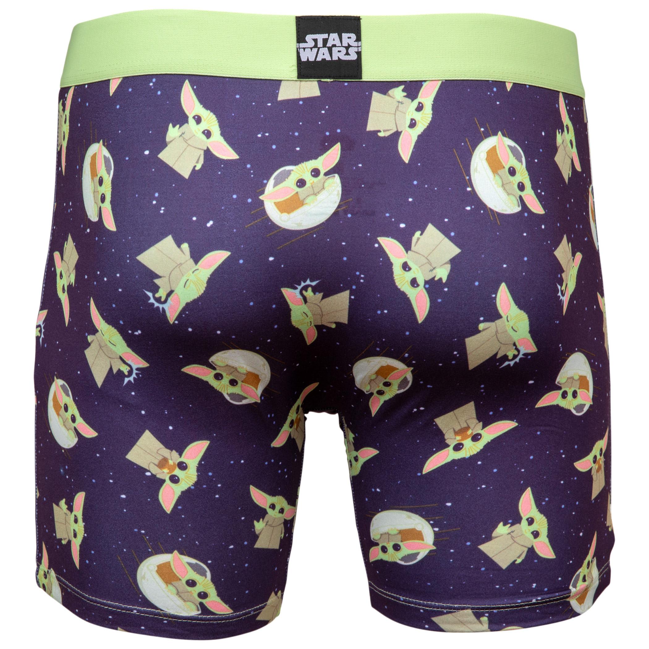 Star Wars The Mandalorian The Child Men's Boxer Briefs Shorts
