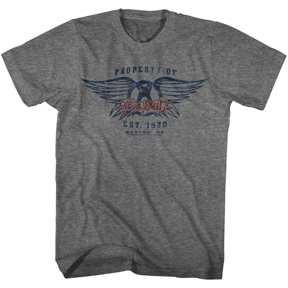 Aerosmith Property Of Aerosmith Tshirt