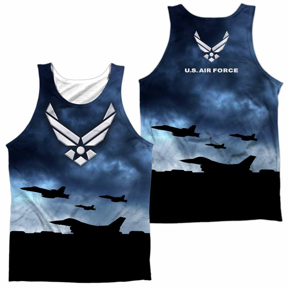 Air Force Take Off Sublimation Tank Top