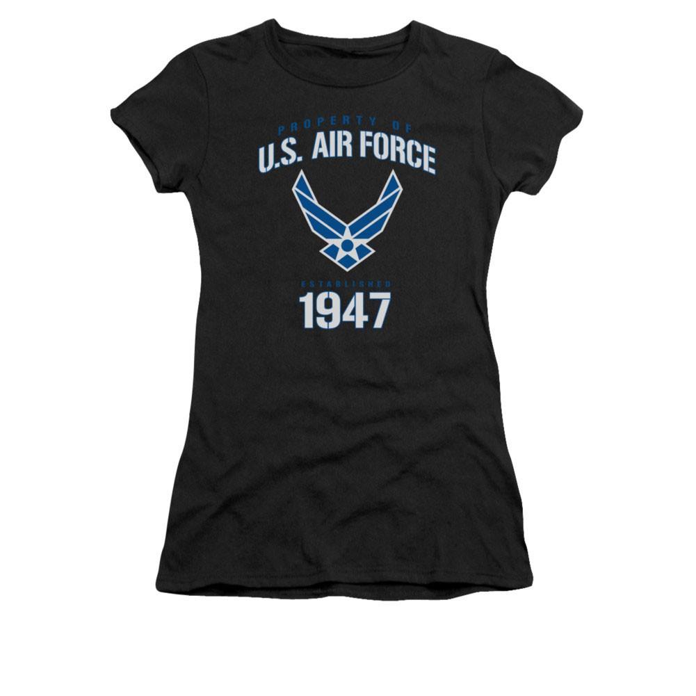 US Air Force F35 Black Juniors T-Shirt