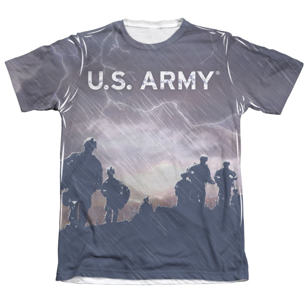 US Army Up The Hill Sublimation T-Shirt