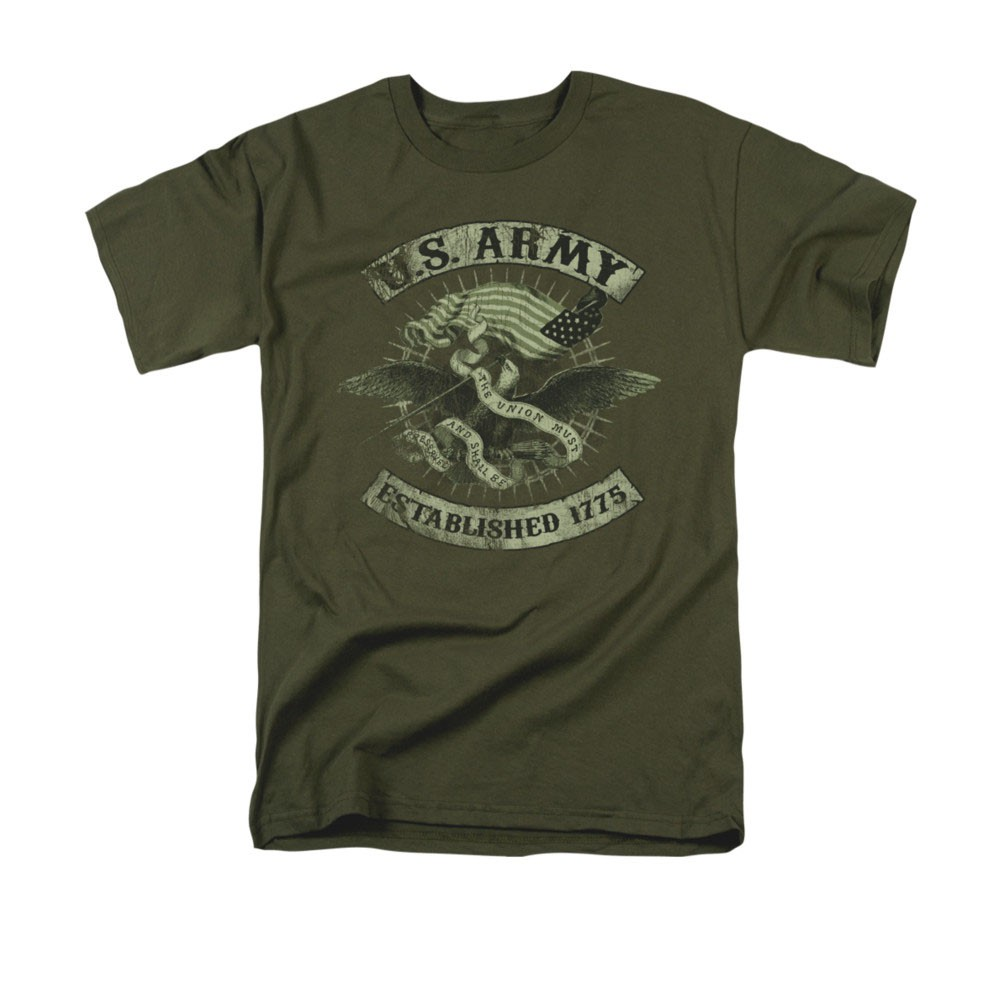 US Army Union Eagle Green T-Shirt