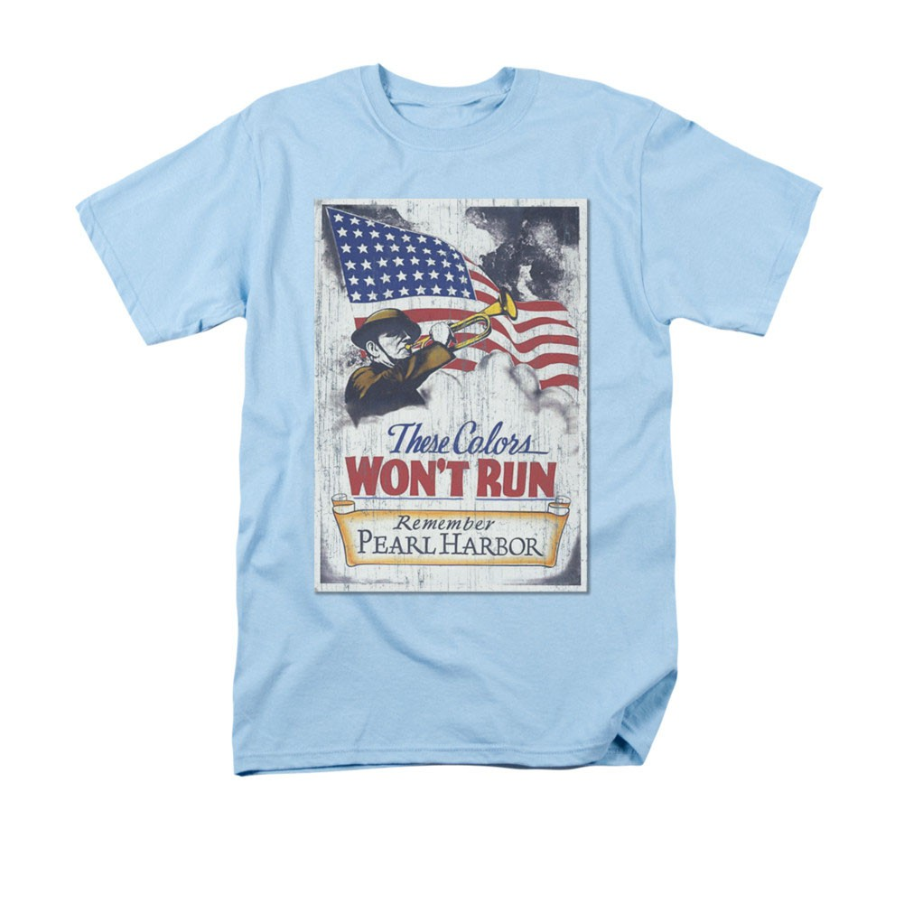 US Army Pearl Harbor Blue T-Shirt