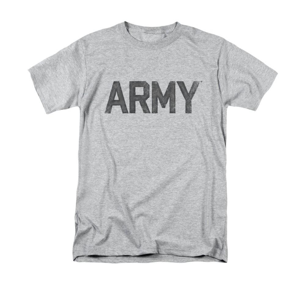 US Army Logo Gray T-Shirt
