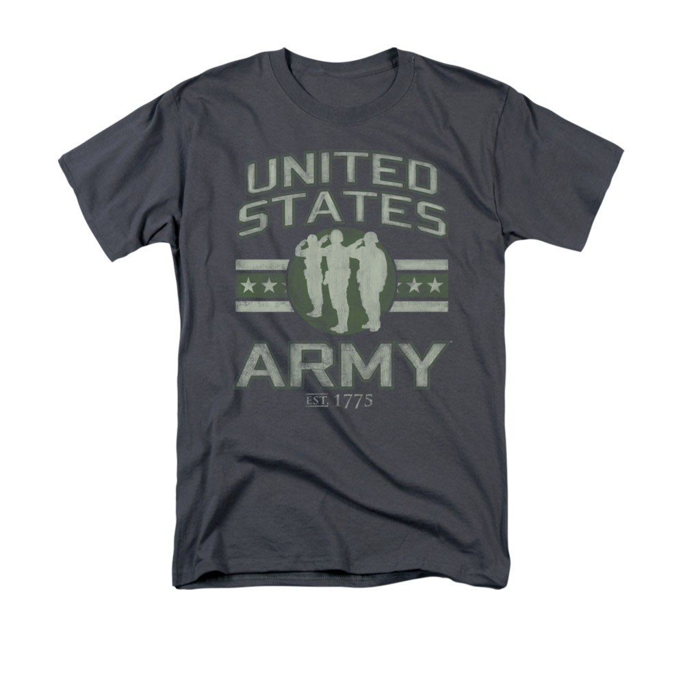 US Army Est 1775 Gray T-Shirt