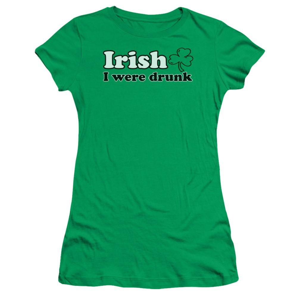St. Patrick's Day Irish I Were Drunk Womens Tshirt