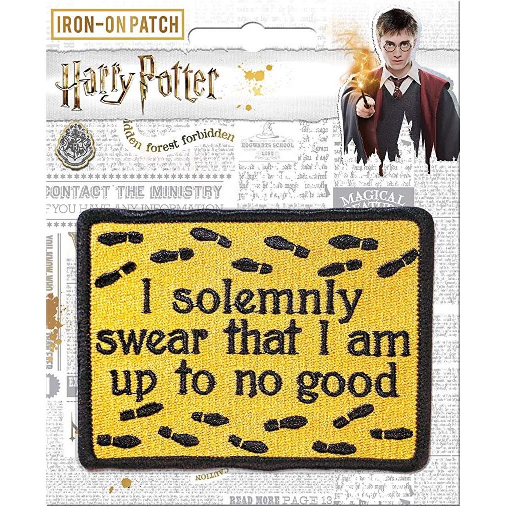 Harry Potter Up To No Good Patch