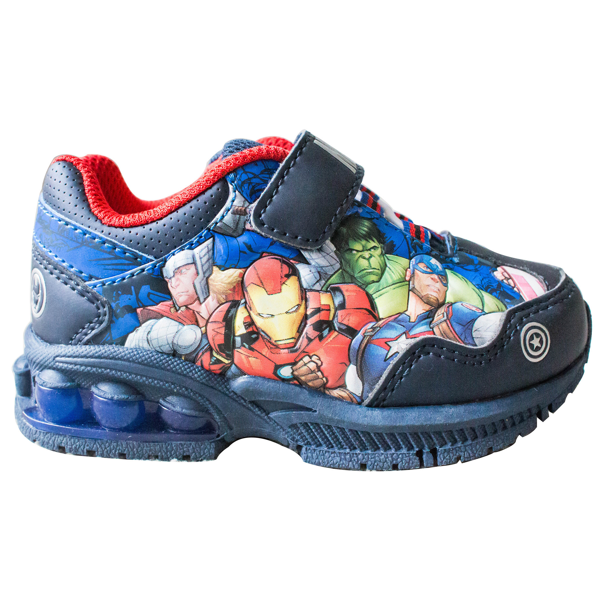 Avengers Assemble Kids Light Up Shoes