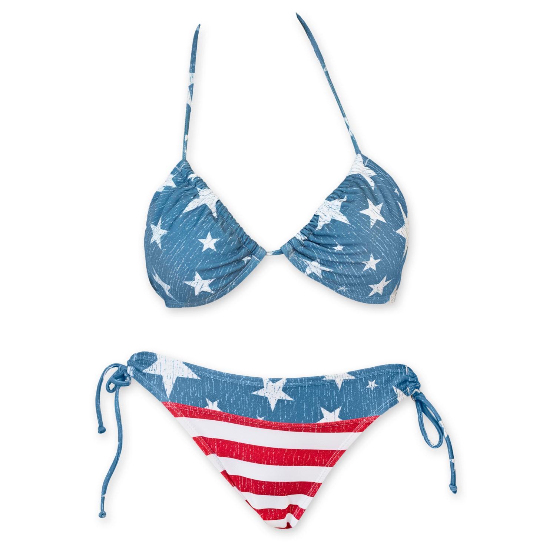 Stars And Stripes USA Bikini