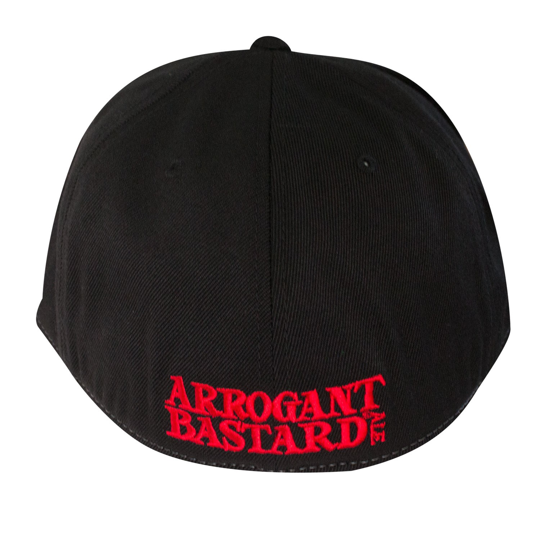 Arrogant Bastard Red & Black Hat