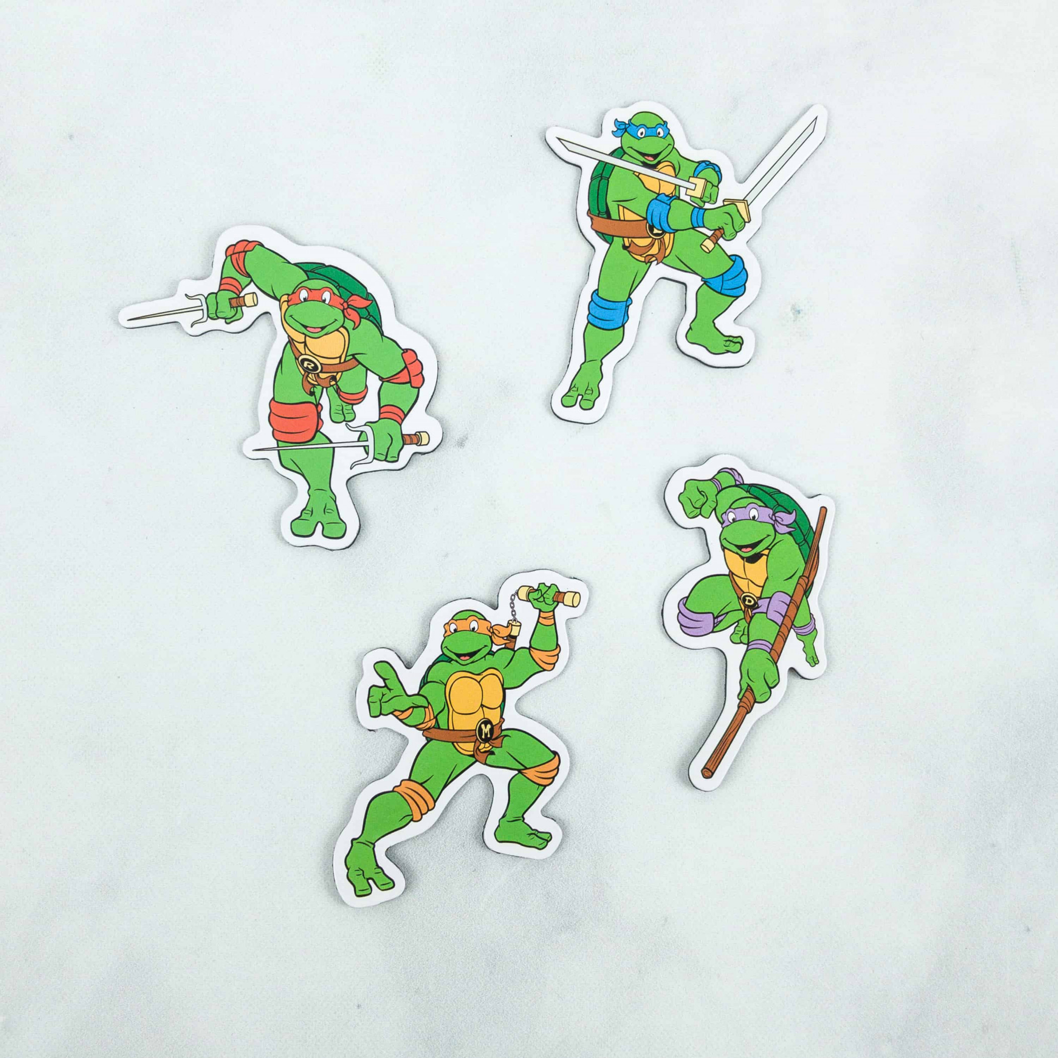Teenage Mutant Ninja Turtles 4-Pack Magnet Set