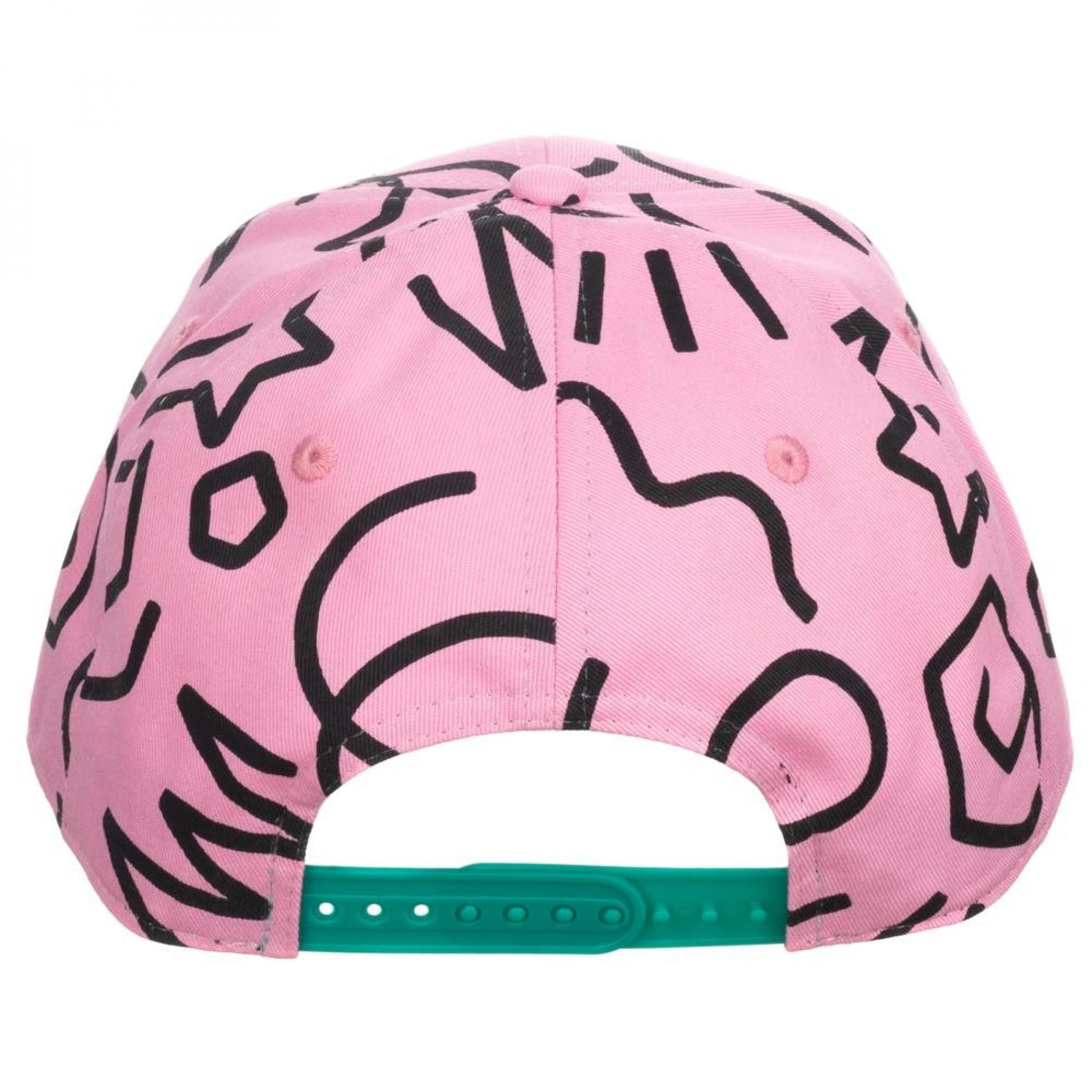 Pokemon Jigglypuff All Over Print Pre-Curved Snapback Hat