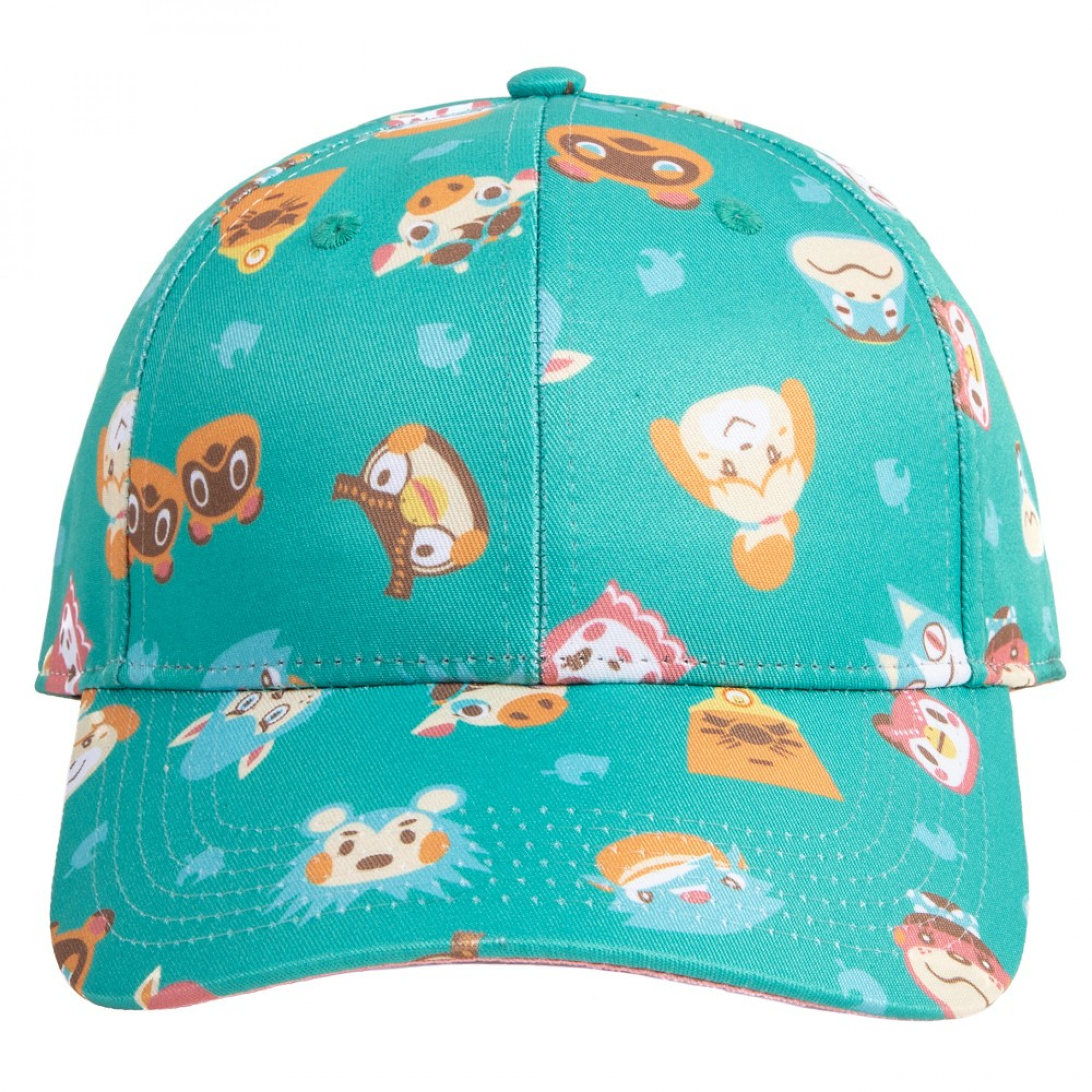 Animal Crossing All Over Print Adjustable Strapback Hat