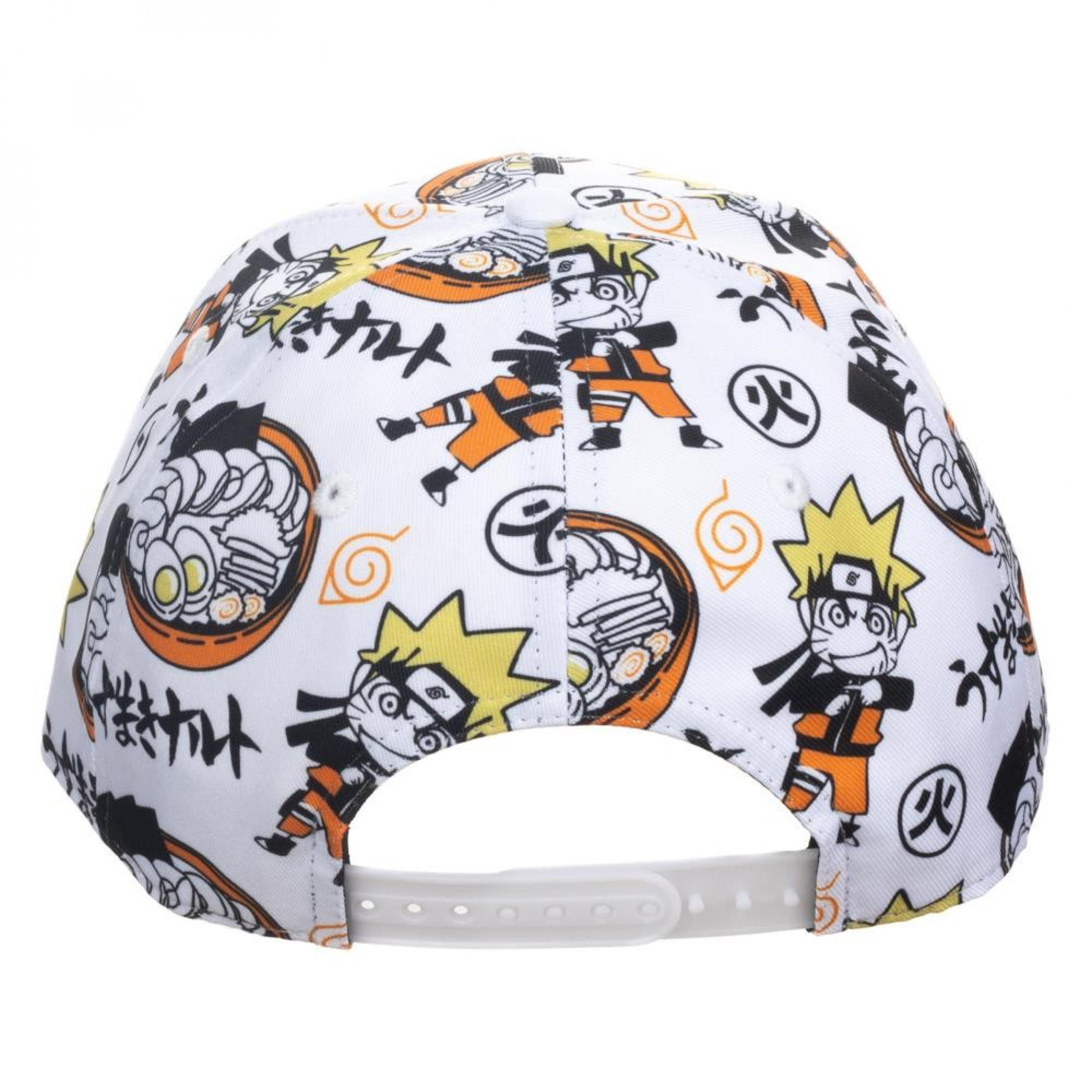 Naruto All Over Print Pre-Curved Snapback Hat